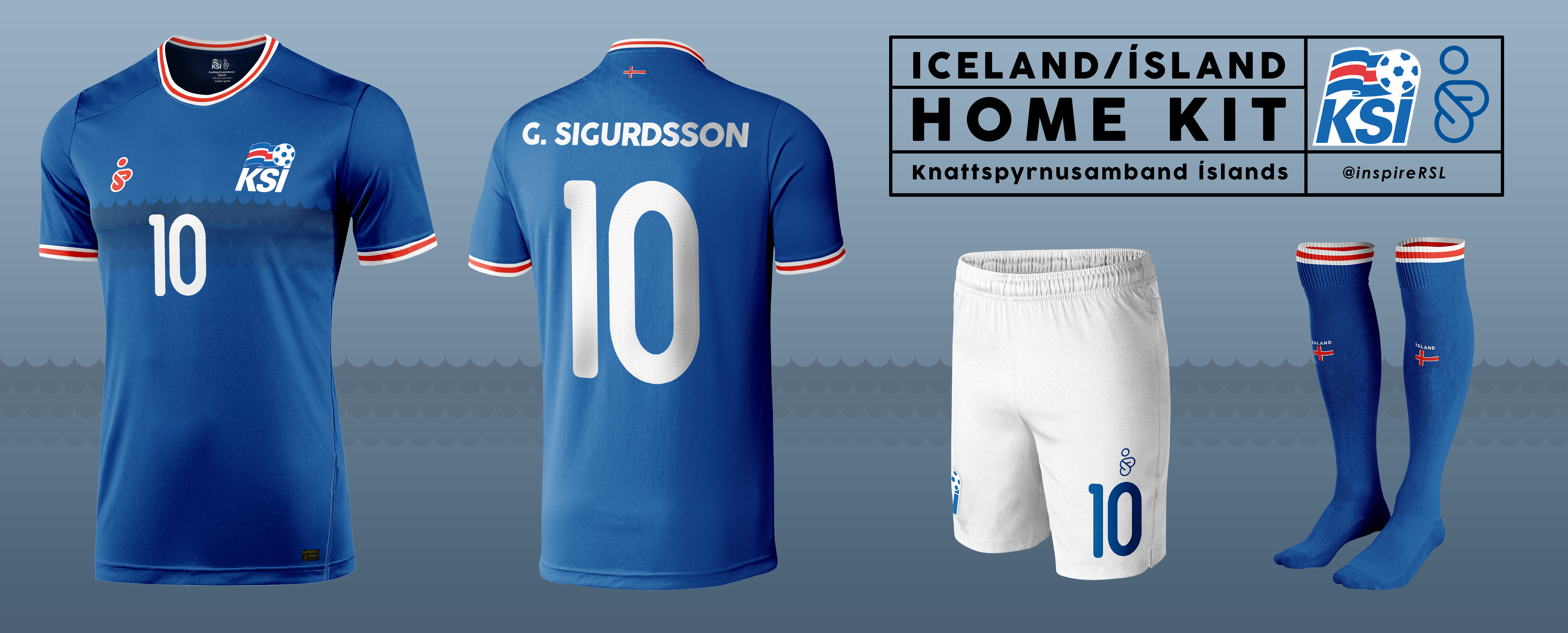 huge selection of 2018a 8b276 Iceland Kit - World Cup Competition, Qualification