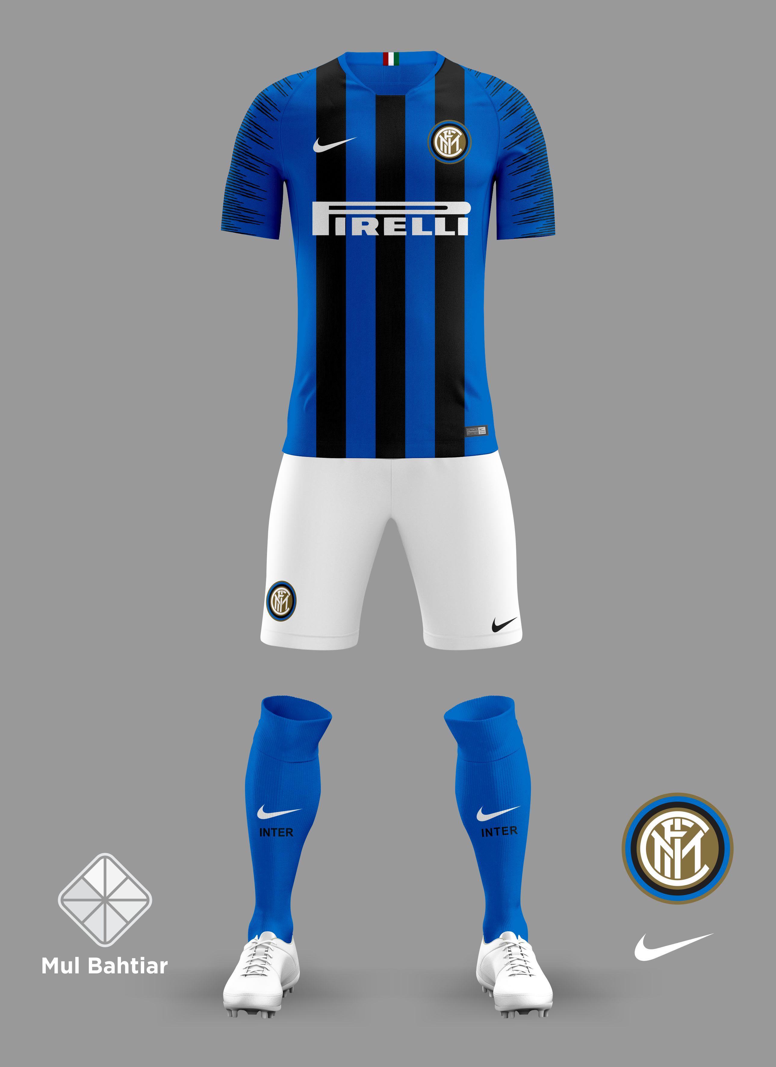 best service 6cc51 492c7 Inter Milan 2018/2019 Home Jersey