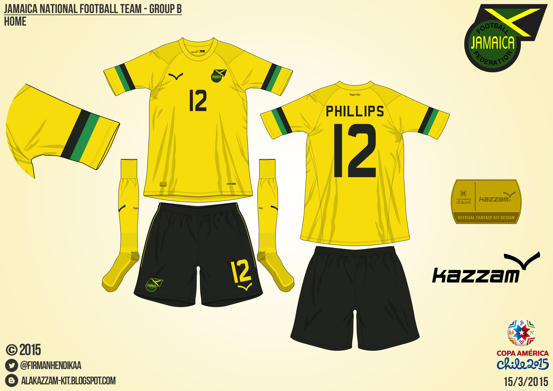 timeless design 31ad0 190fb Jamaica Home - Group B, 2015 Copa América