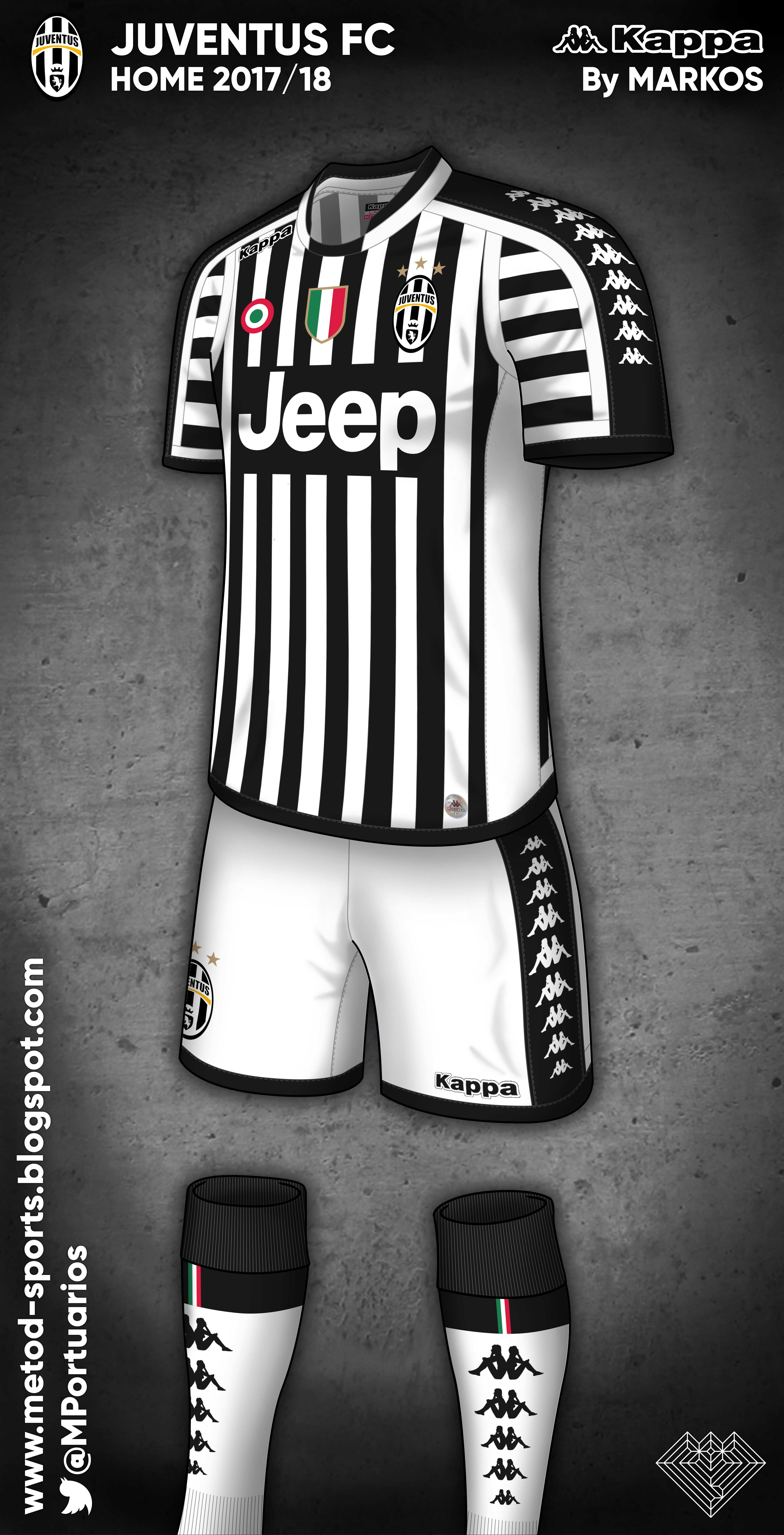 best service ca233 efb26 Juventus 17/18 Kappa