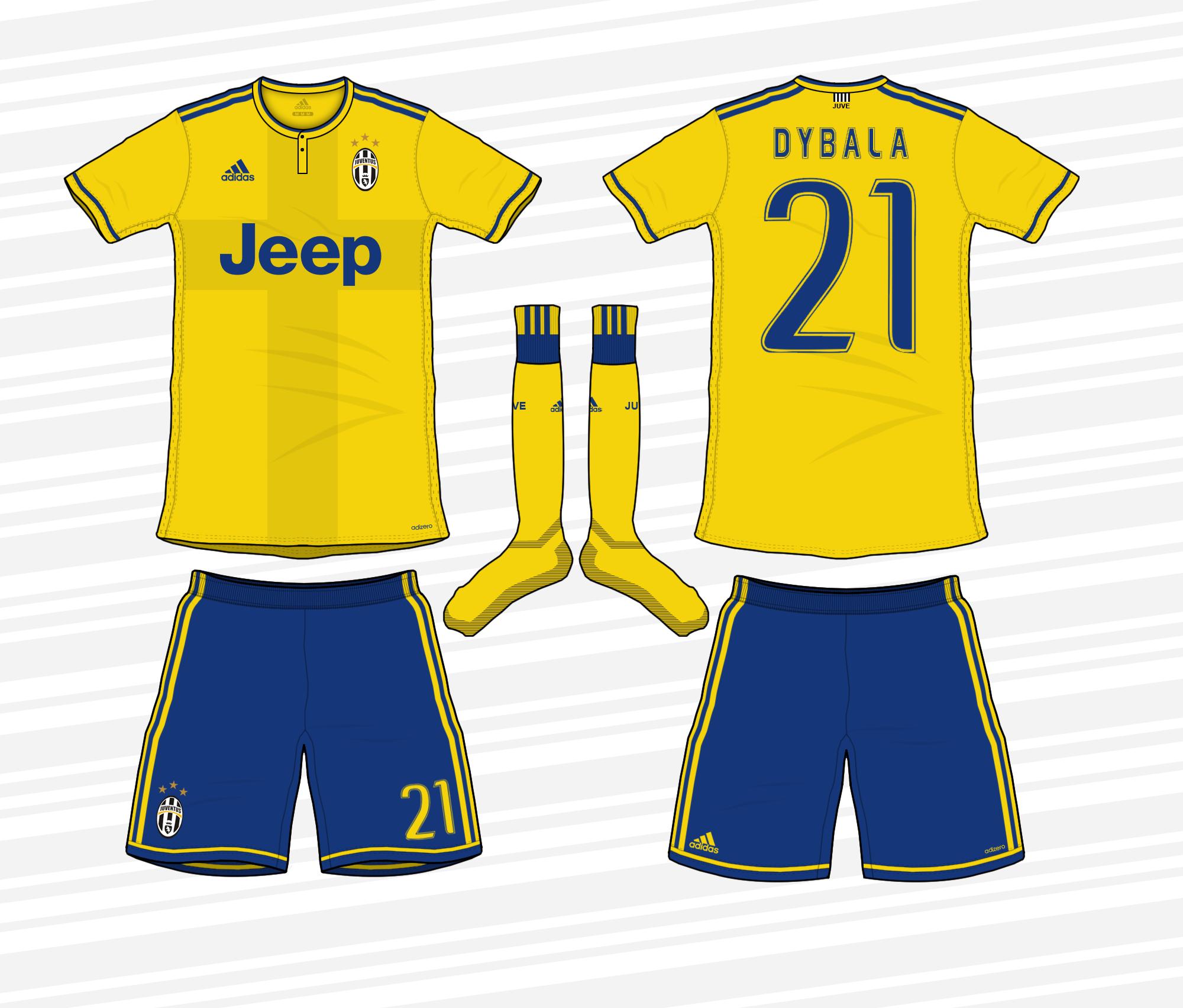 super popular a004d 94c09 Juventus 2017/18 Away Kit
