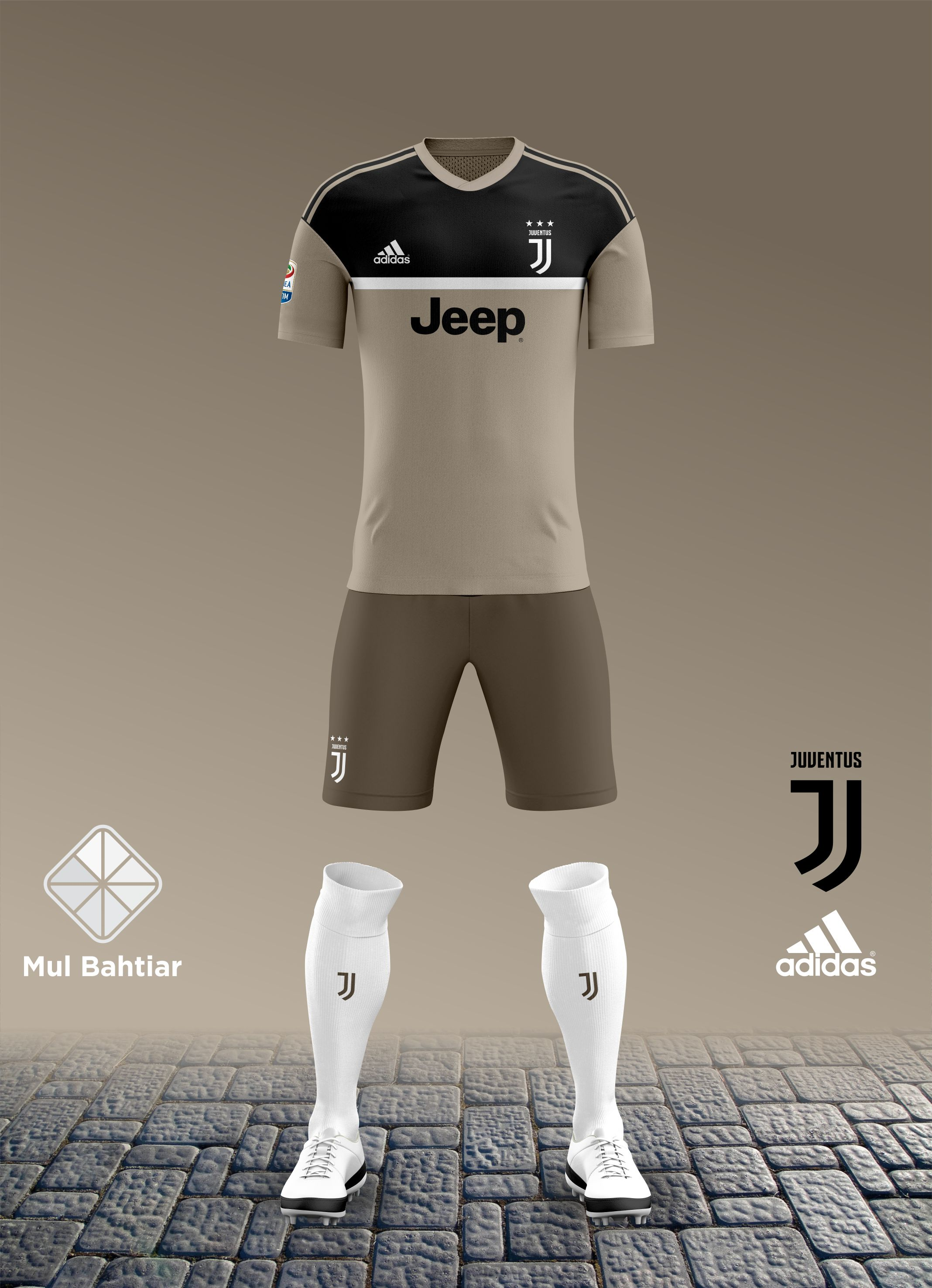 new product 862d7 79ec6 Juventus 2018-2019 Away Kit Leaked (2nd Concept)