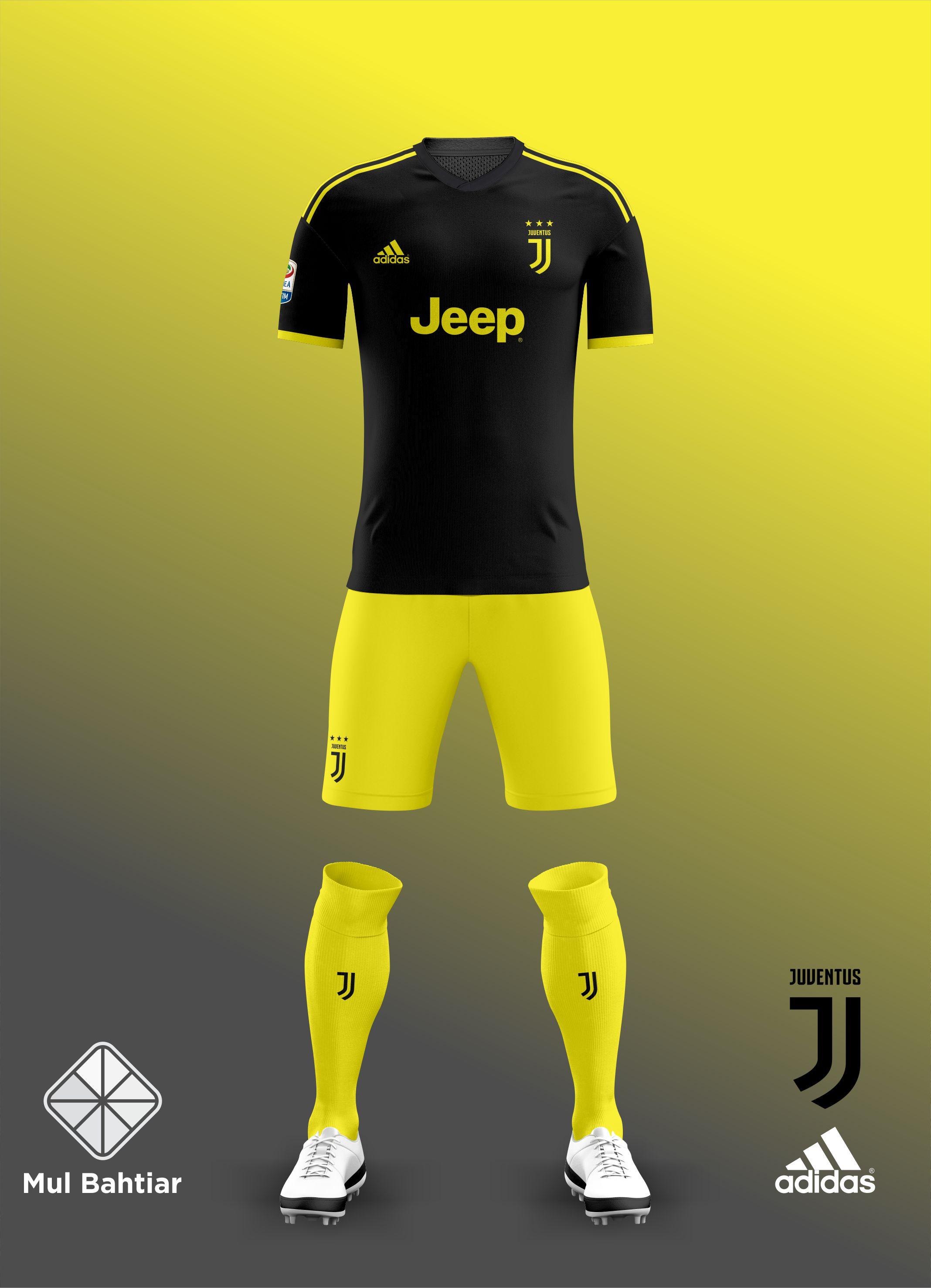 best loved b9ea5 2eb30 Juventus 2018-2019 Third Kit Leaked