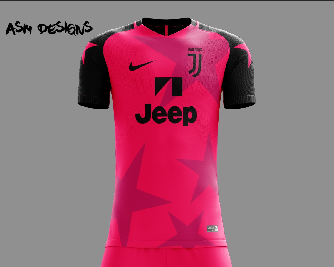 online store 80dc3 d1cd2 Juventus F.C. Nike 2018 Alternate Kit