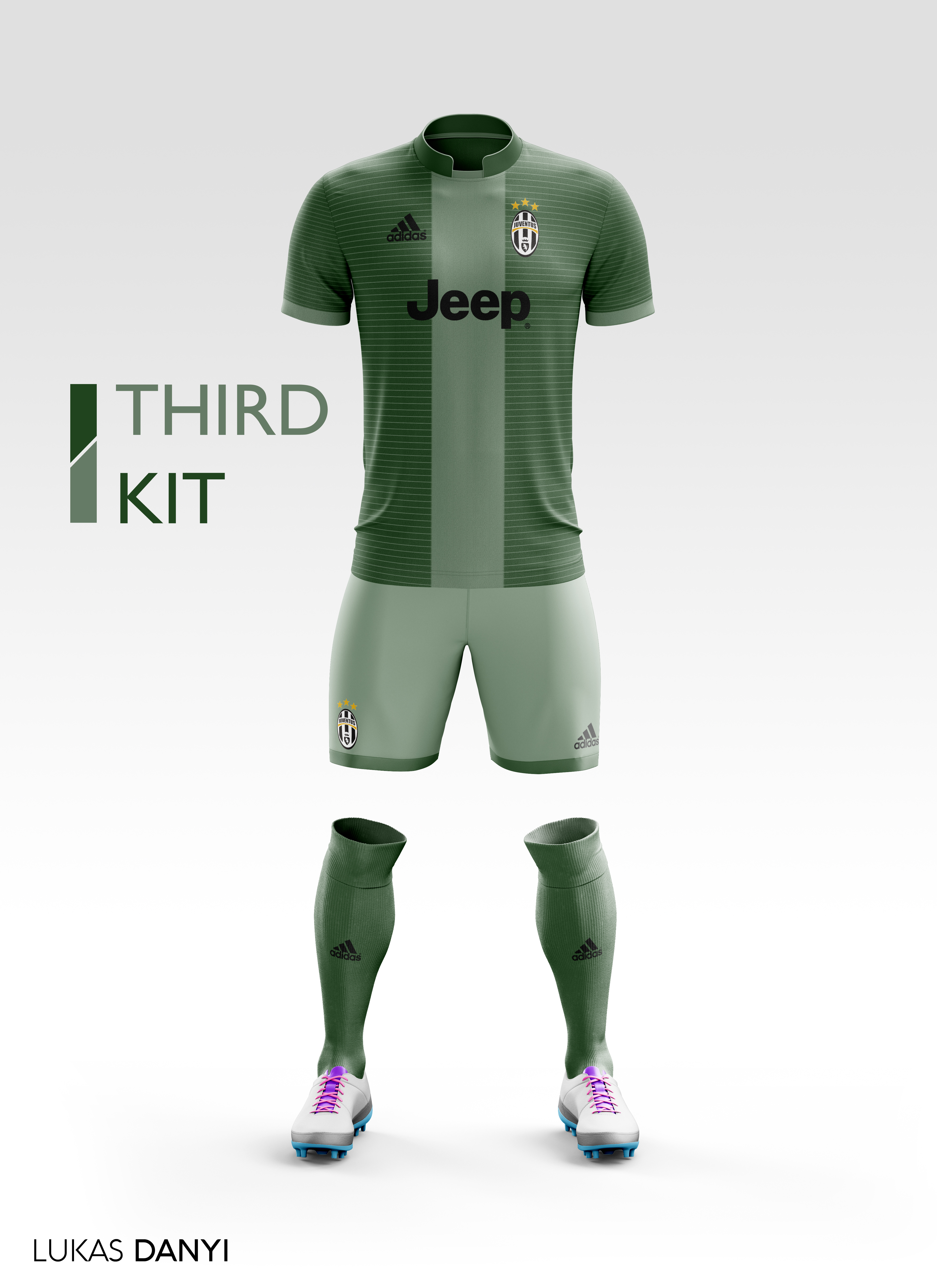 3bc5d1928 Juventus Third Kit 17 18.