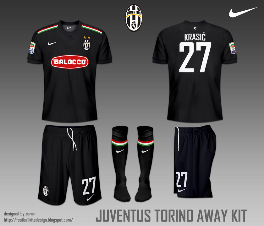 the best attitude 9aa62 14346 Juventus FC Torino fantasy home and away