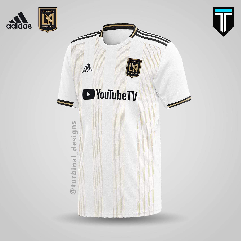 the latest 1b3c1 20768 LAFC x Adidas - Away Kit