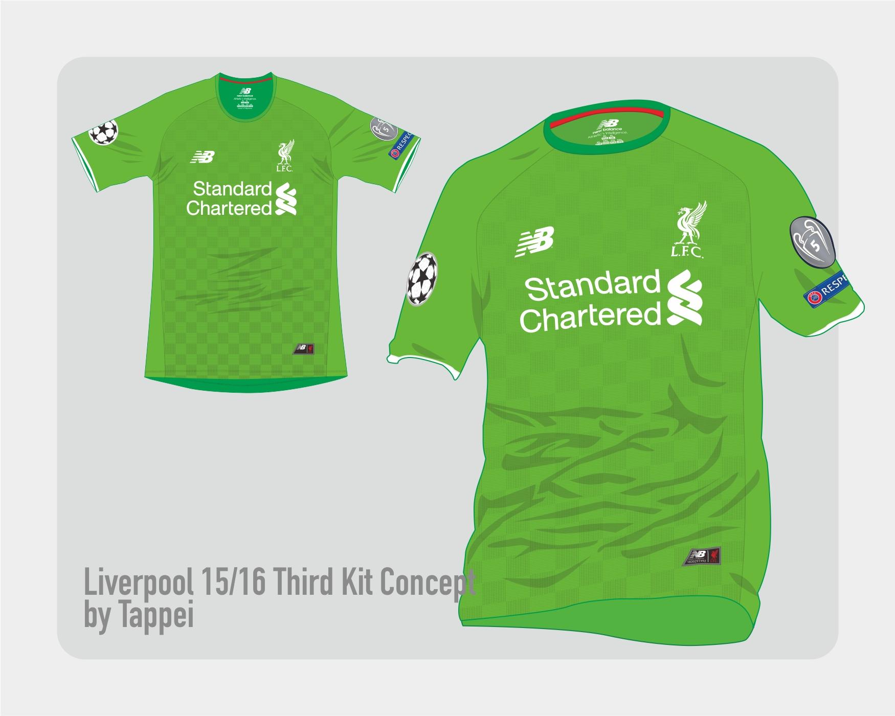 d388699ed Liverpool 15-16 3rd kit concept w/ New Balance