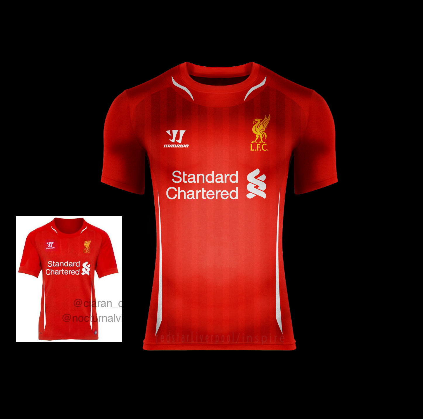 45a4da9d1 Liverpool F.C. Home 14 15 BASED ON LEAKED KIT