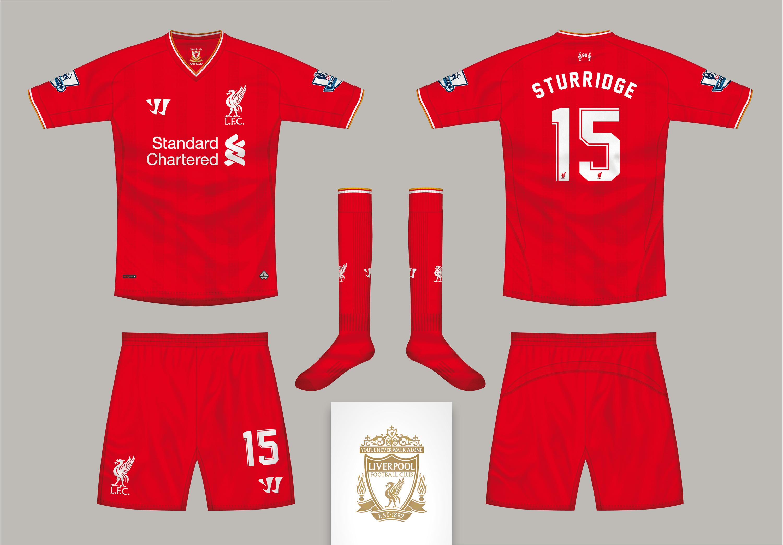 size 40 107ba 9f11c Liverpool FC Home