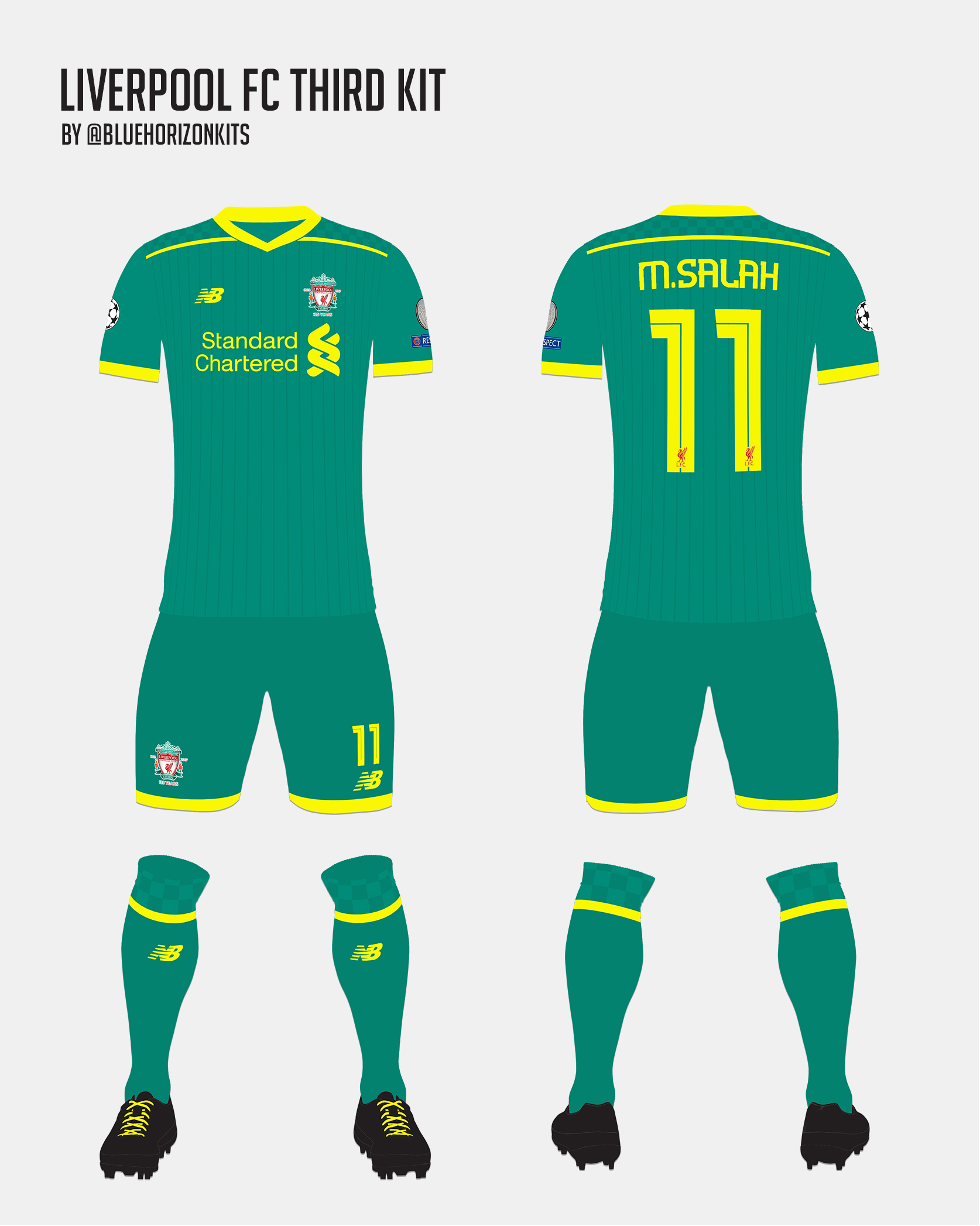 huge selection of f8c6a 1819c Liverpool FC Third Kit