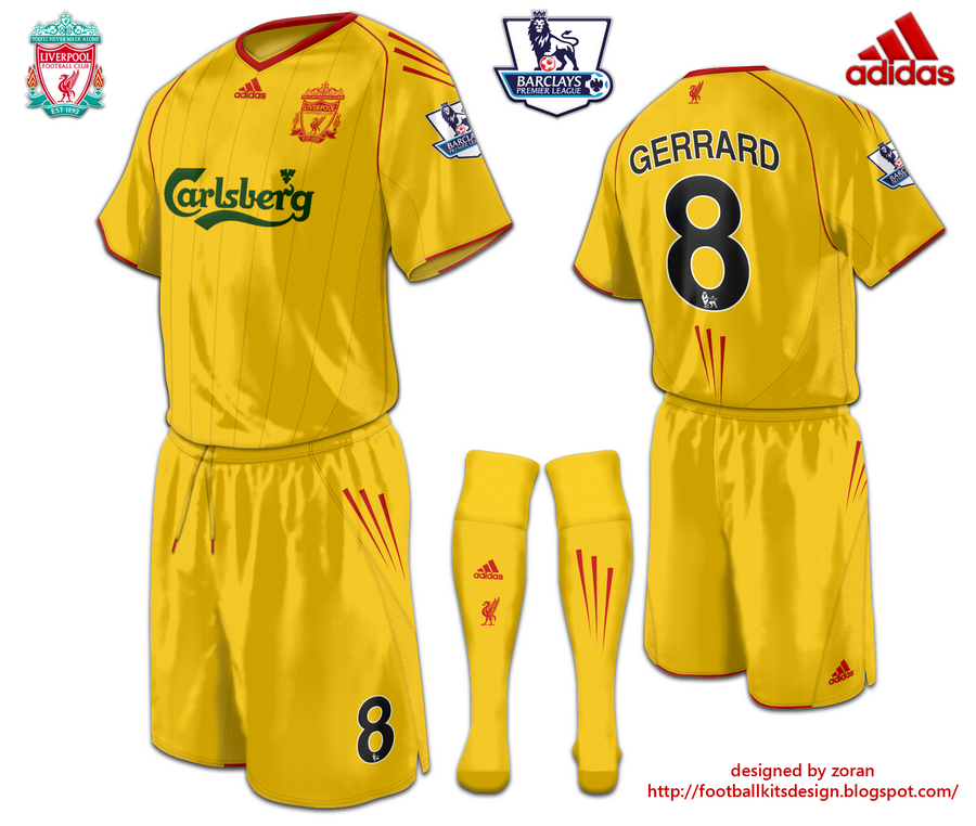 uk availability 7ca93 36fcb Liverpool fantasy third yellow