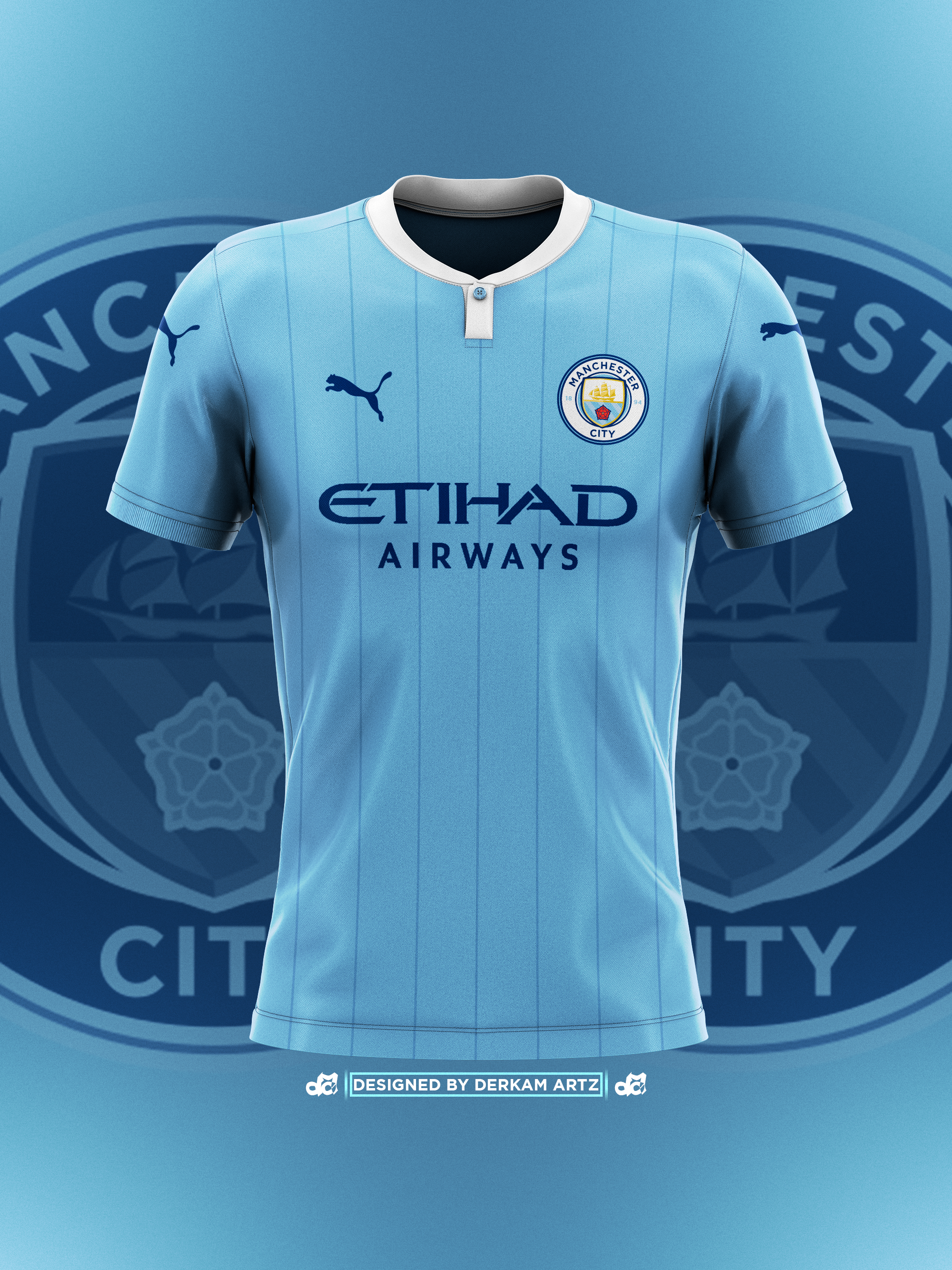 Manchester City Home Jersey Soccer 2019//20 Football Men Shirt