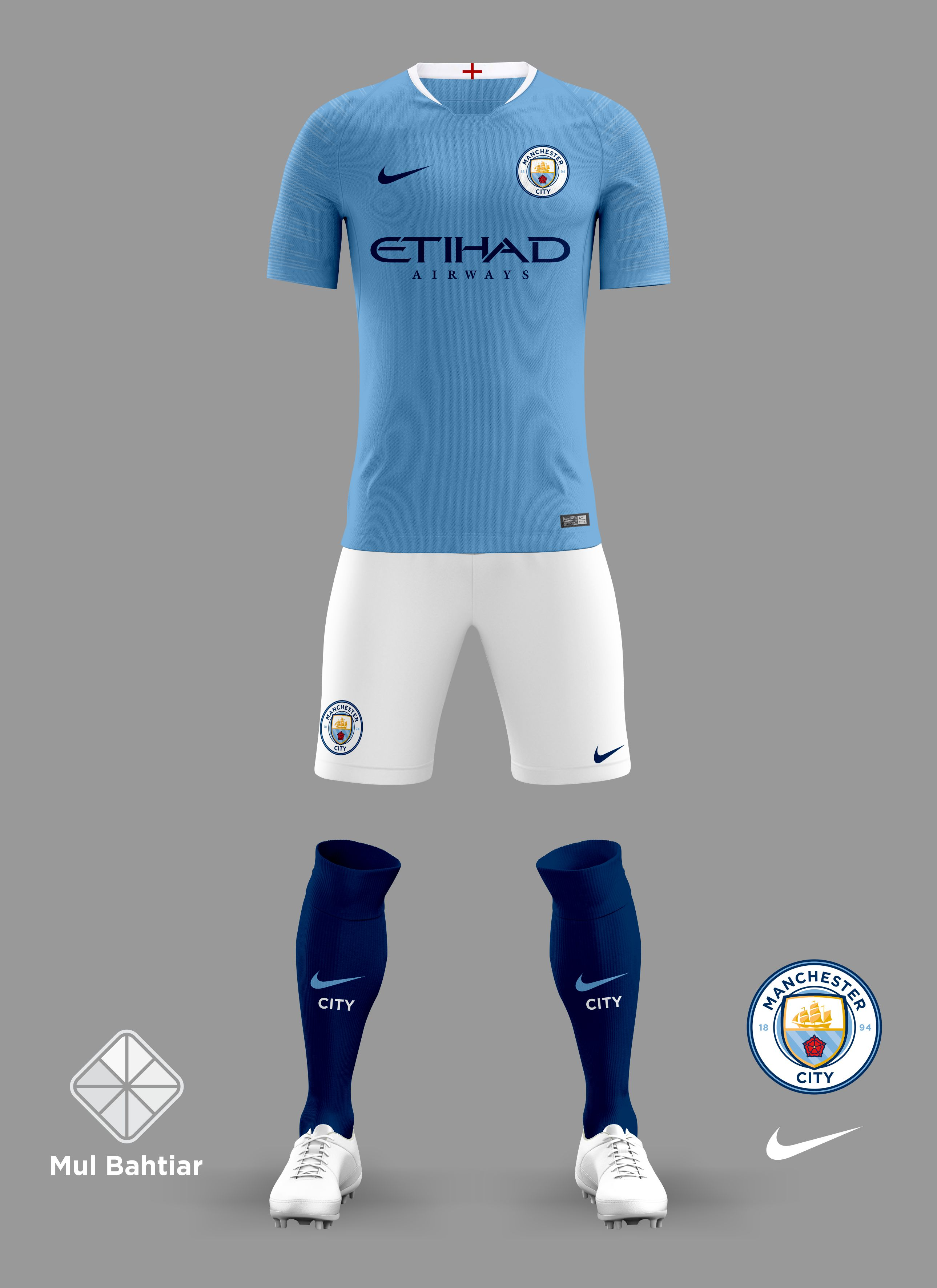 separation shoes 7f344 63f60 Manchester City 2018/2019 Home Jersey