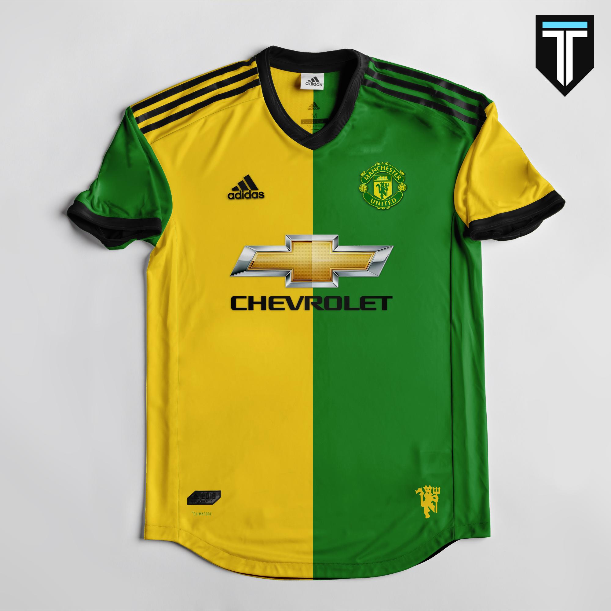 best loved d01bd 9635c Manchester United Away Kit Concept
