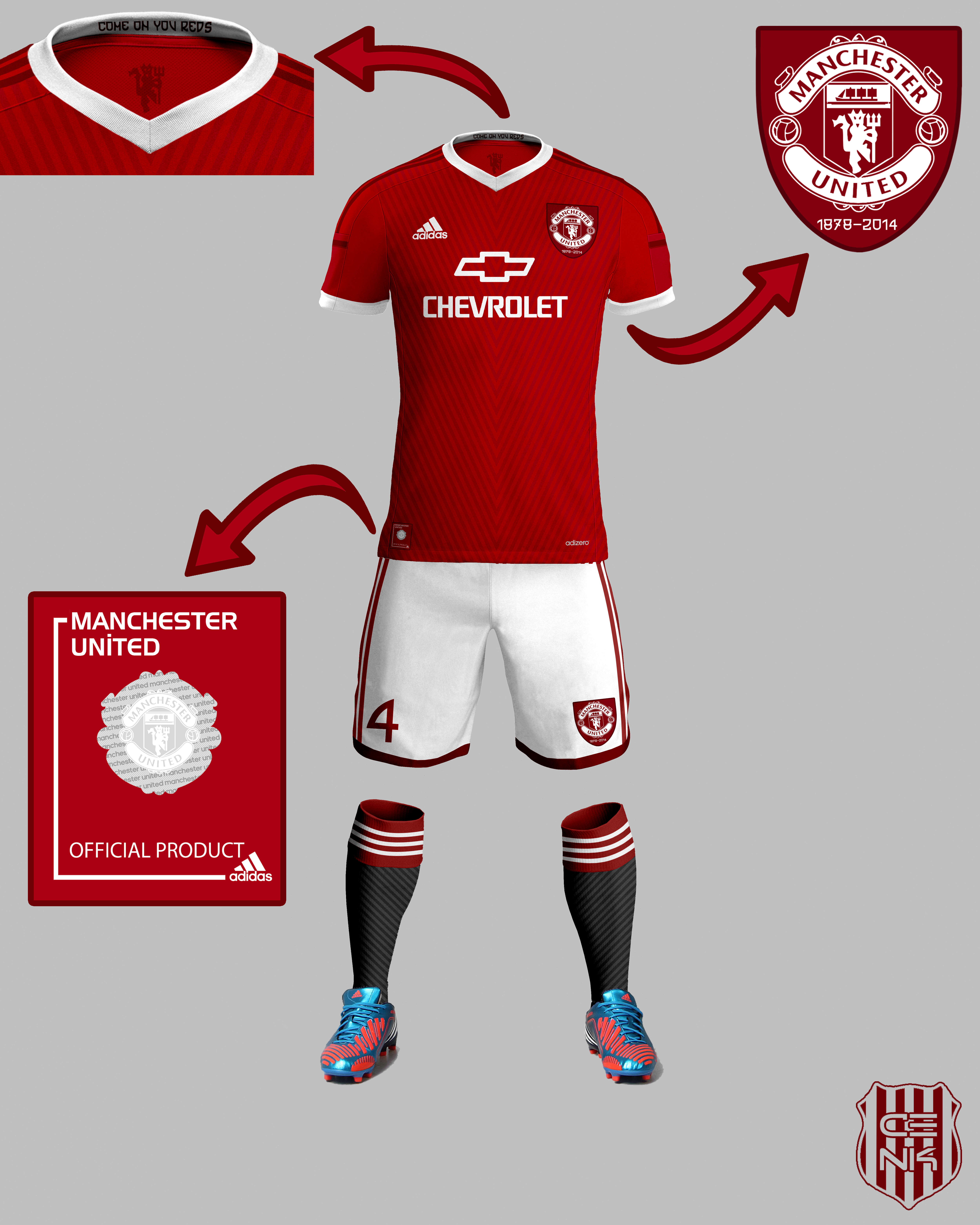 size 40 1f09c 82062 Manchester United Home 15-16