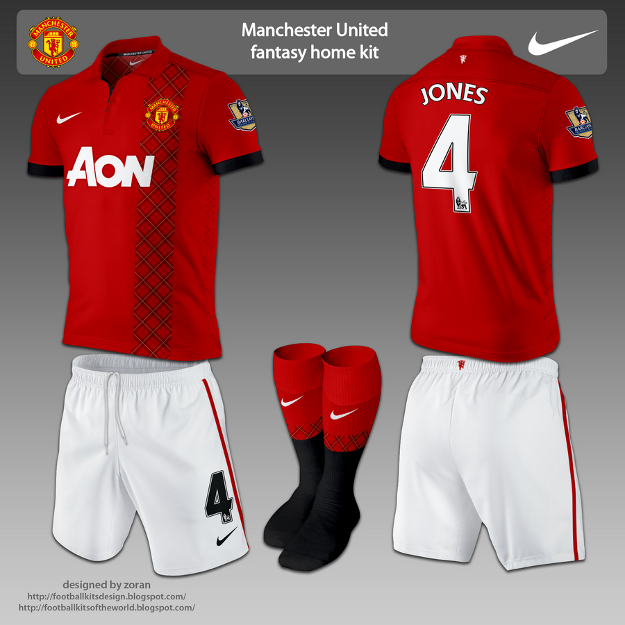best website f3fa8 64d53 Manchester United fantasy kits