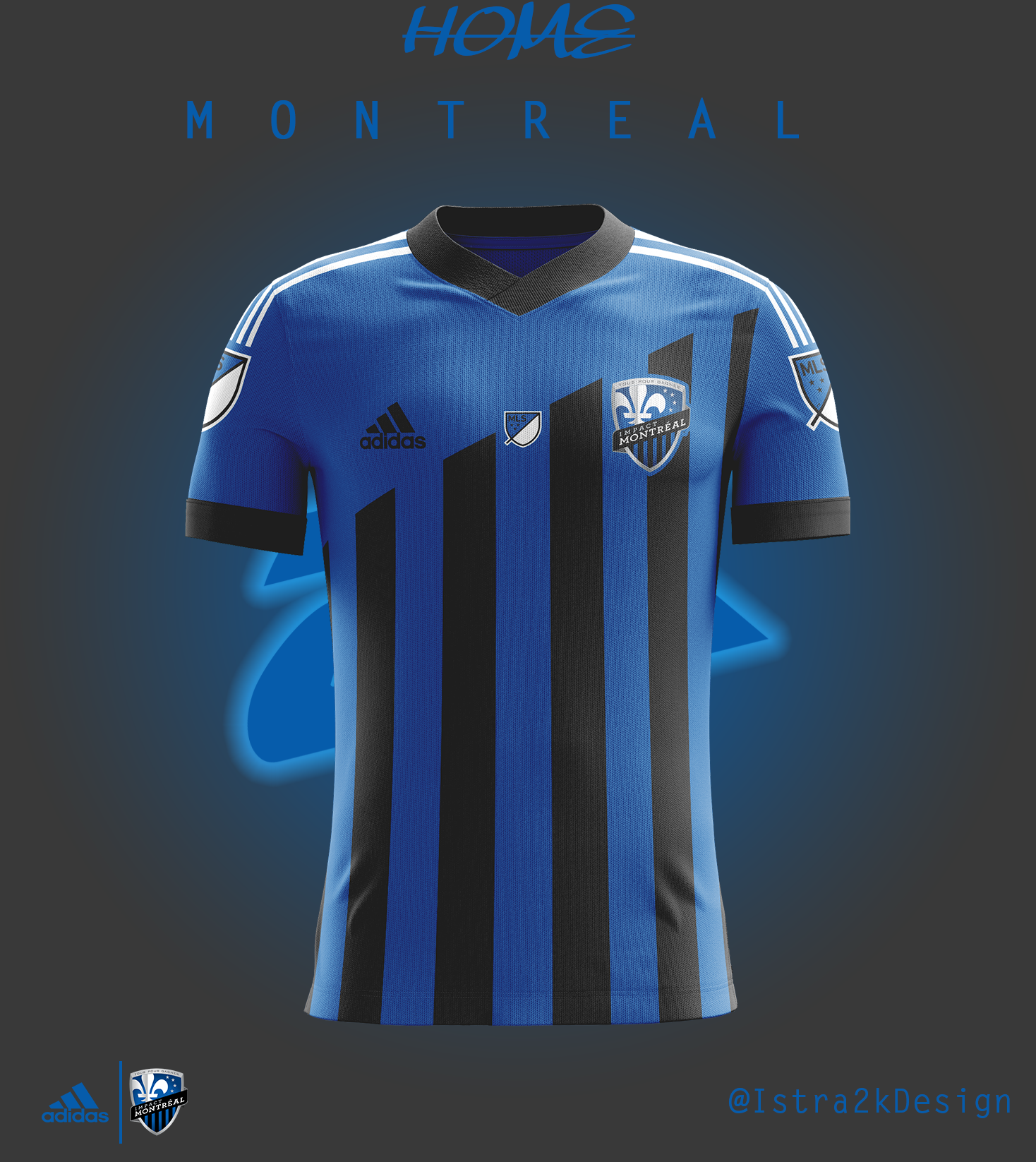 new arrival 1f279 b167e Montreal Impact - Home kit
