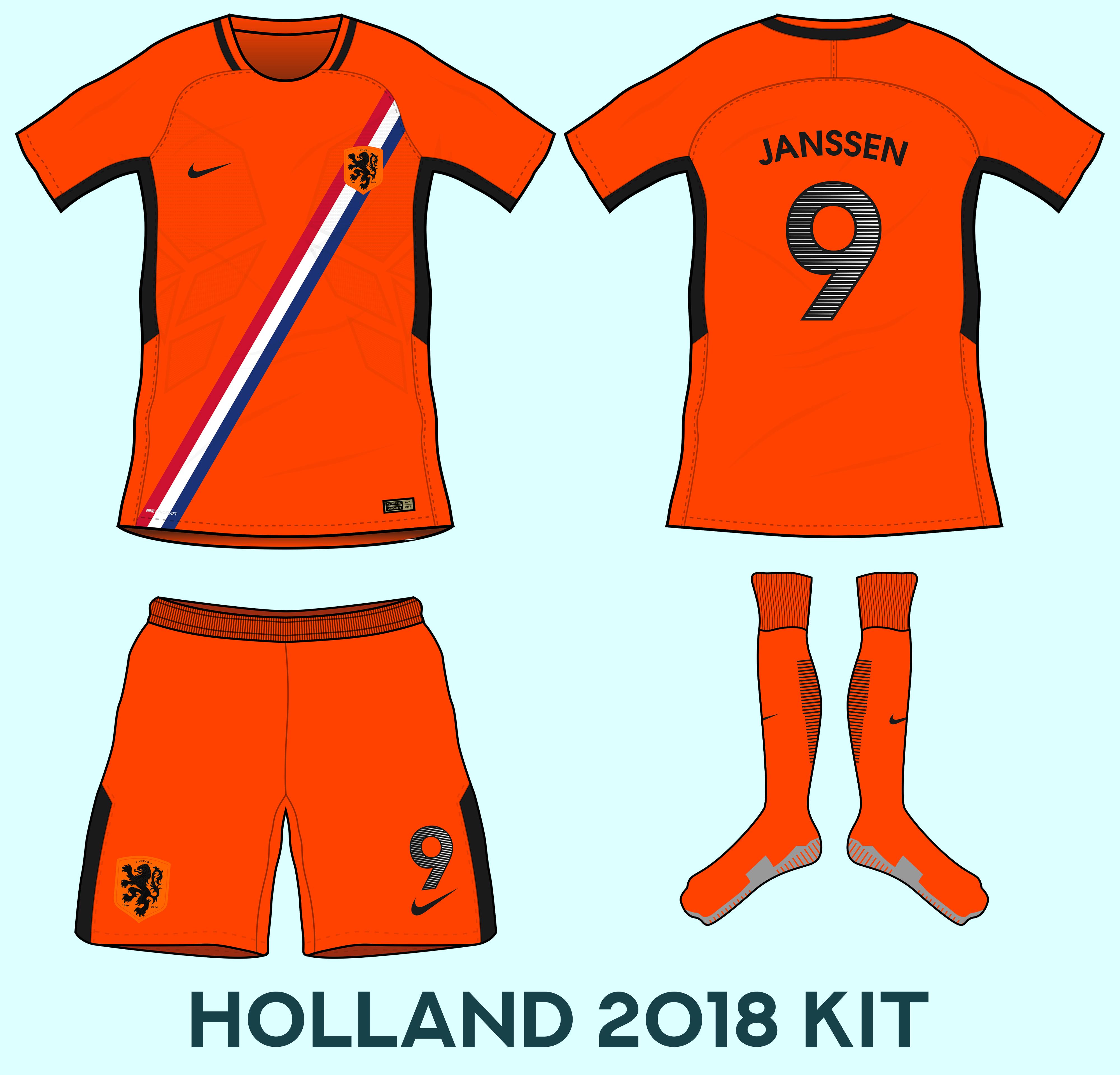 buy popular d0060 deb4a Netherlands Home Kit Based Ob Leaks