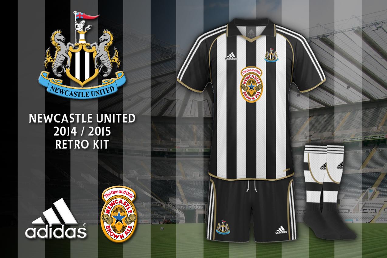wholesale dealer 91bf8 777b1 Newcastle United Retro Kit