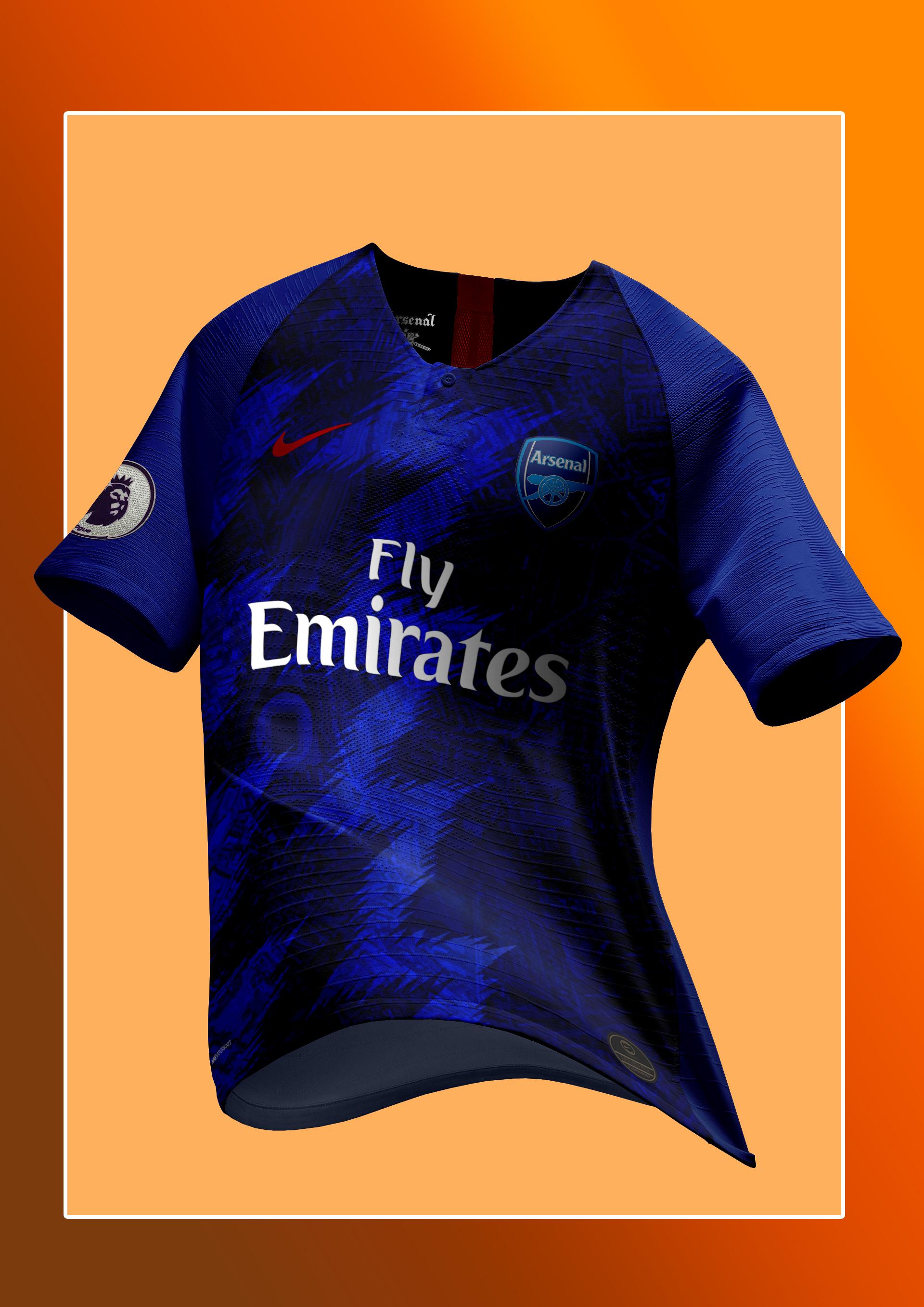 6dde45e04b5 Nike Arsenal FC 2019-20 Third Jersey Concept