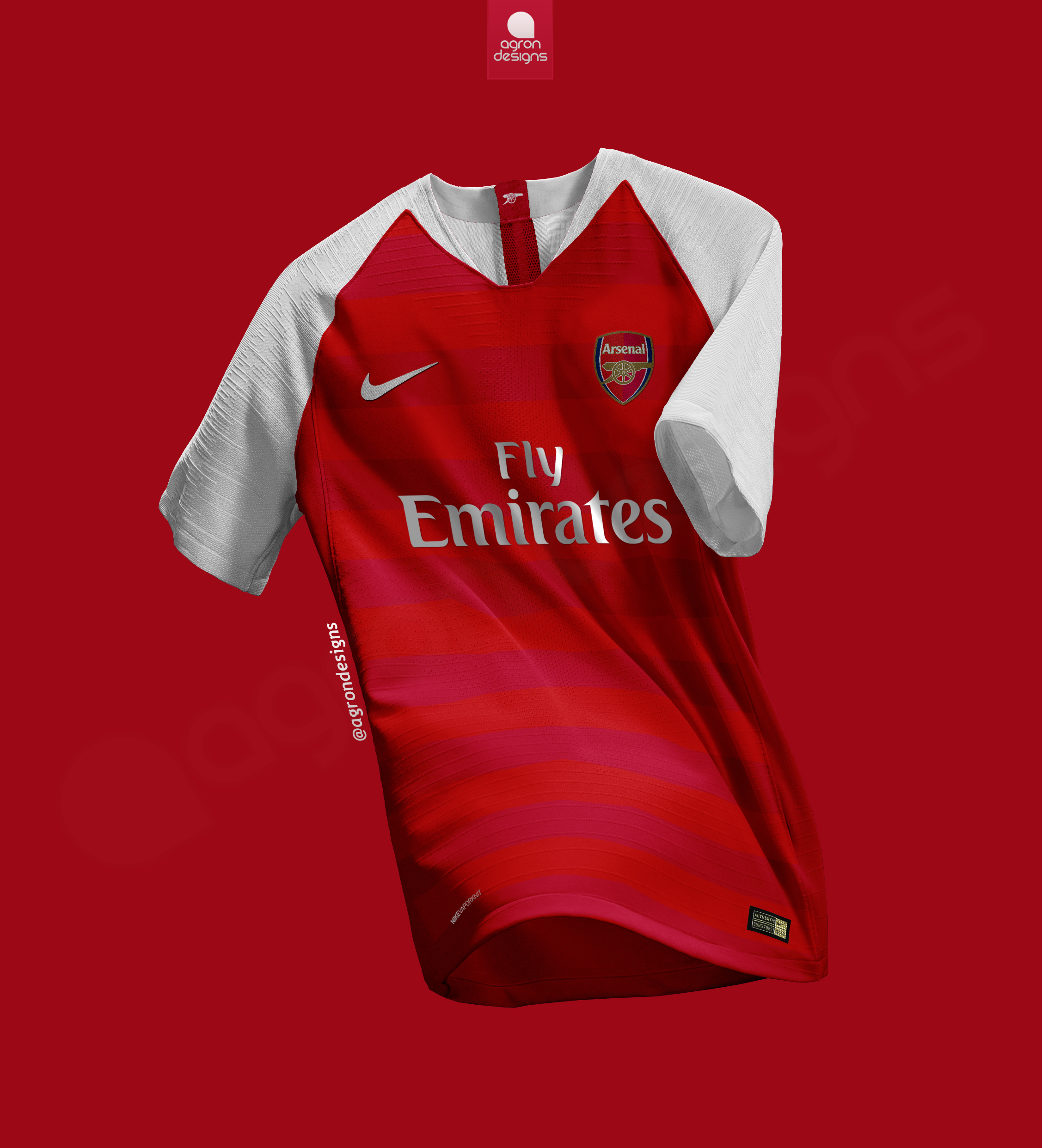 low priced f5343 3aa48 NIKE ARSENAL FC HOME KIT CONCEPT