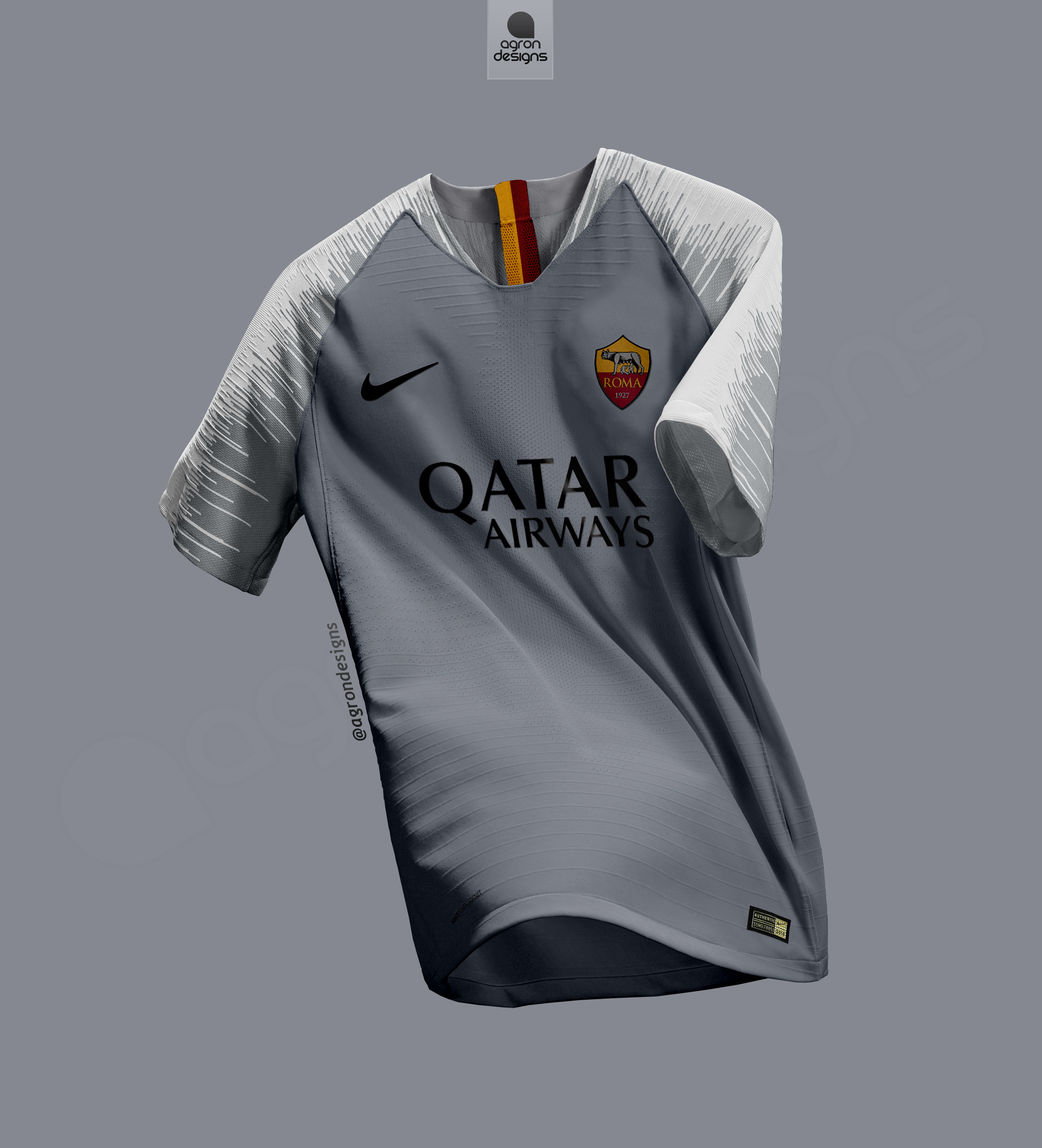 a78a1b361de NIKE AS ROMA 2018-19 AWAY KIT BASED ON LEAKED IMAGES
