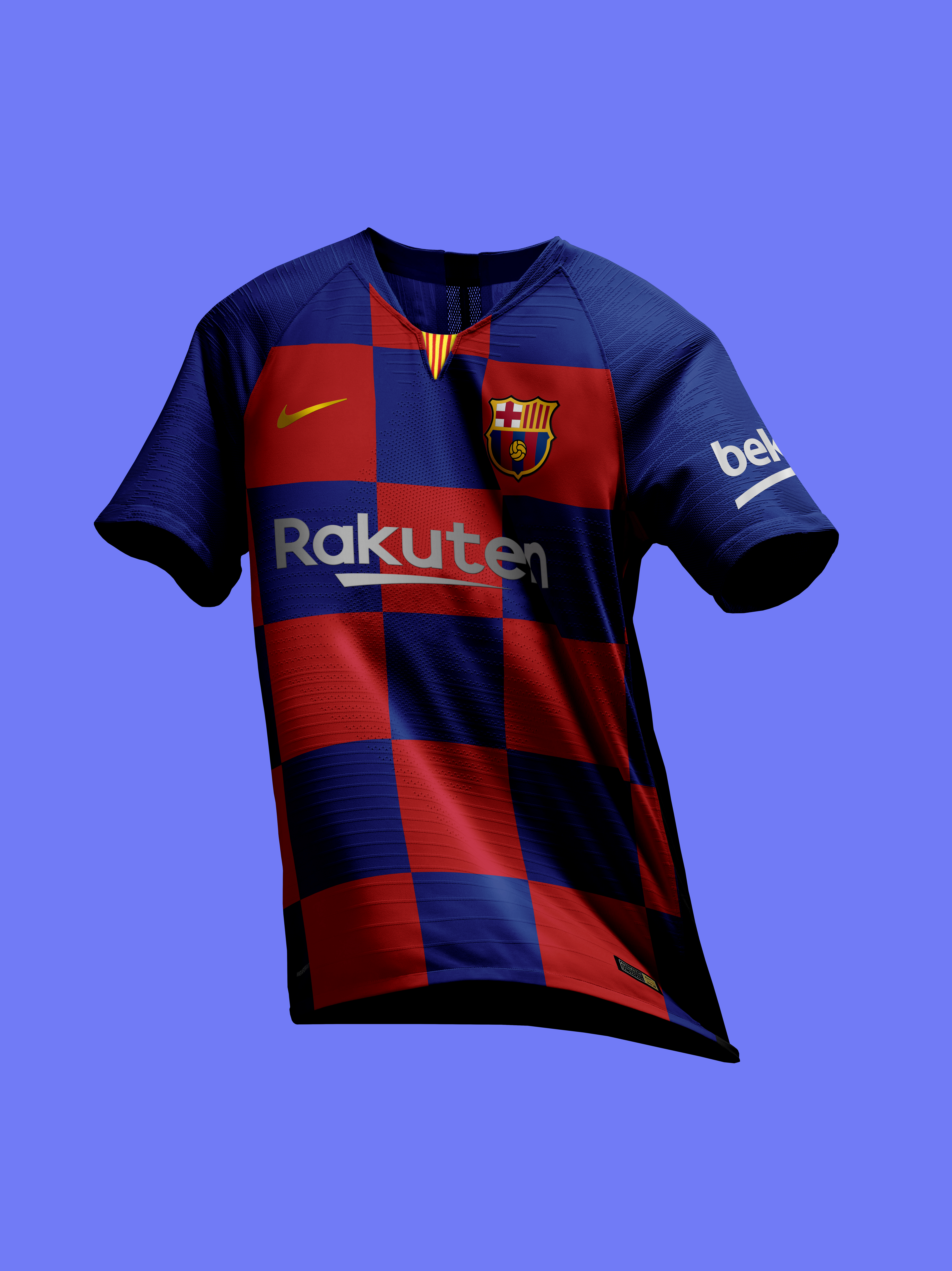 7fa386bd8 Barcelona 19-20 Home Kit Leaked - Footy Headlines. Nike ...