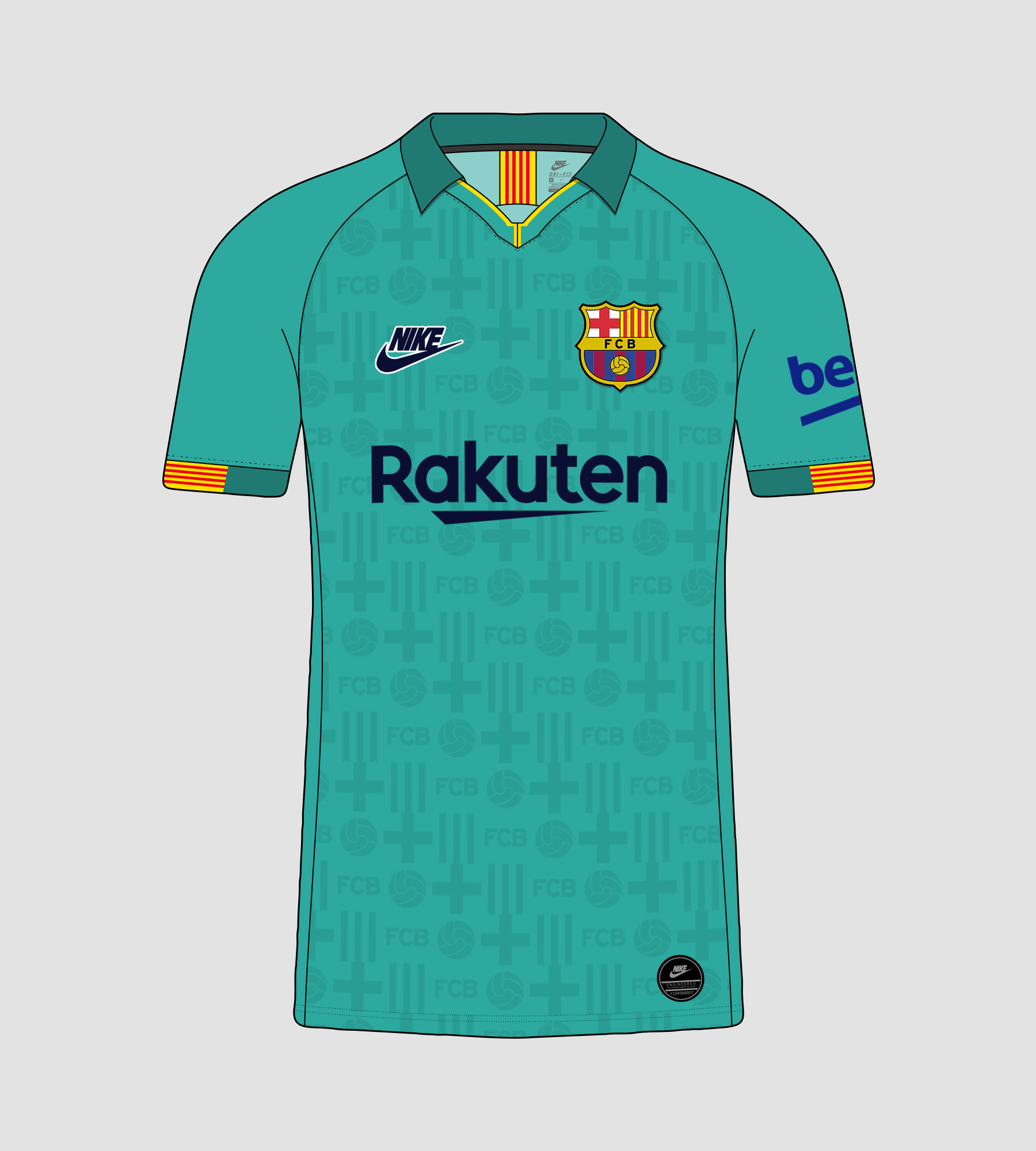 nike fc barcelona 2019 20 third jersey concept nike fc barcelona 2019 20 third jersey