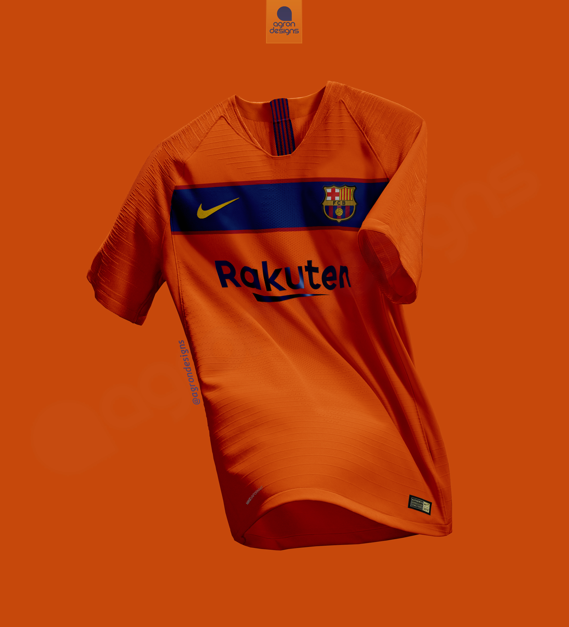 32bb7c17479 NIKE FC BARCELONA AWAY KIT CONCEPT