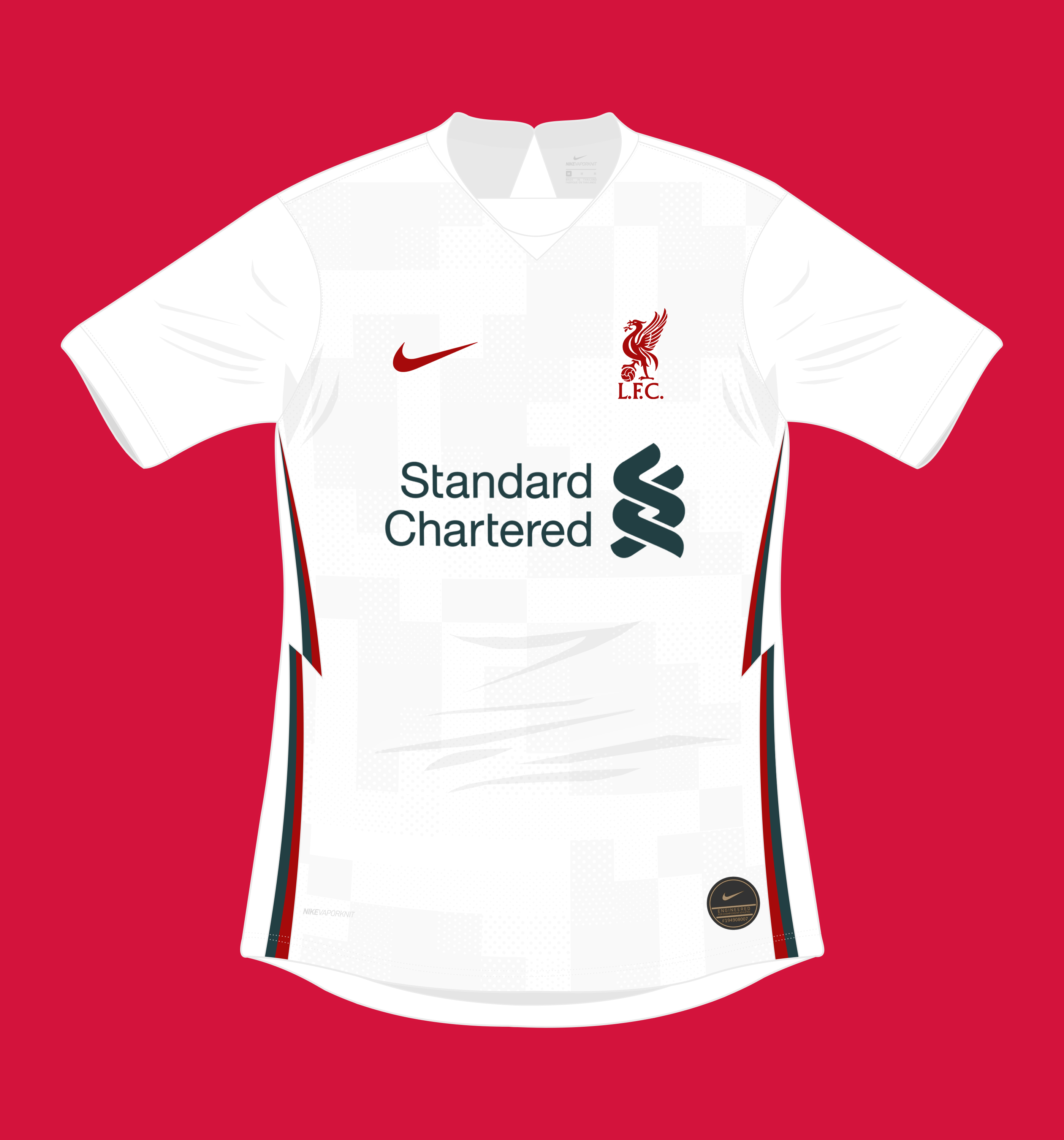 hot product best loved new collection Nike Liverpool FC 2020-21 Away Kit (2019-20 inspired)