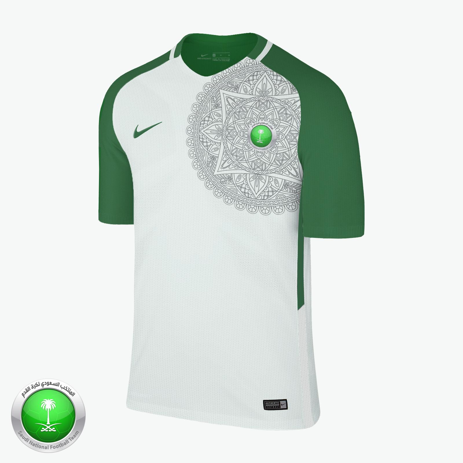 new products c9568 6b0ce Nike Saudi Arabia Away