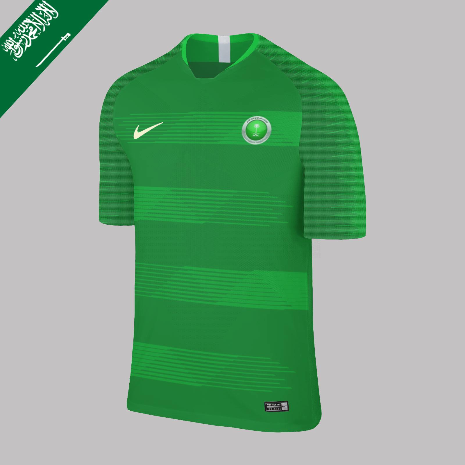 7590979ad Nike Saudi Arabia Home 2018 Concept