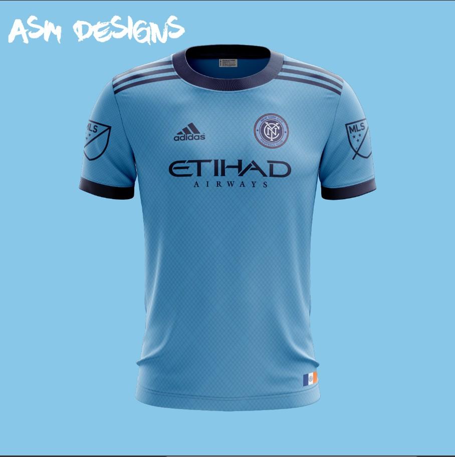 353b635fc NYCFC Adidas 2018 Home kit