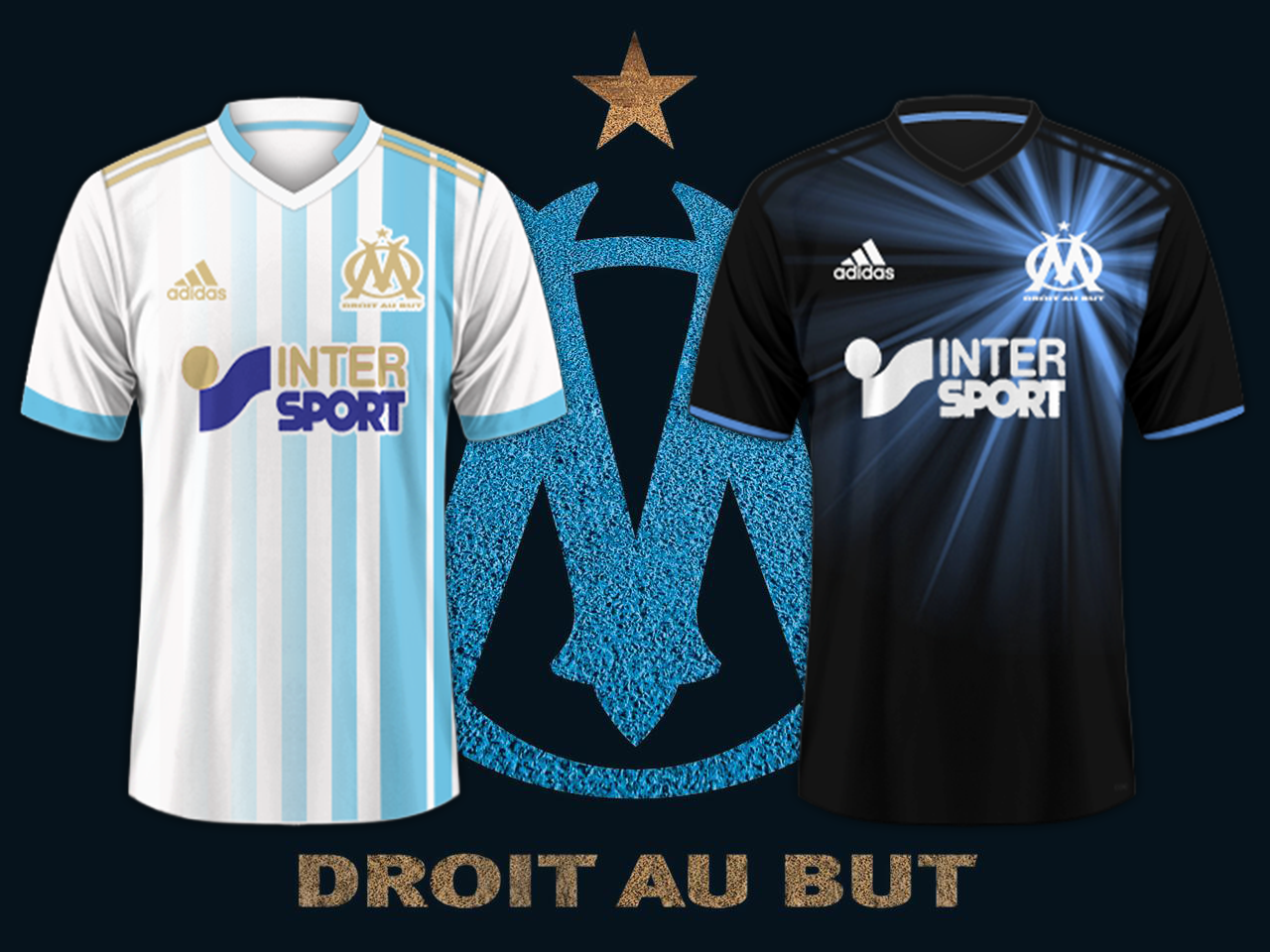 wholesale dealer 9f1db bcaac Olympique de Marseille / Adidas Football Kits 2017-2018 Preview