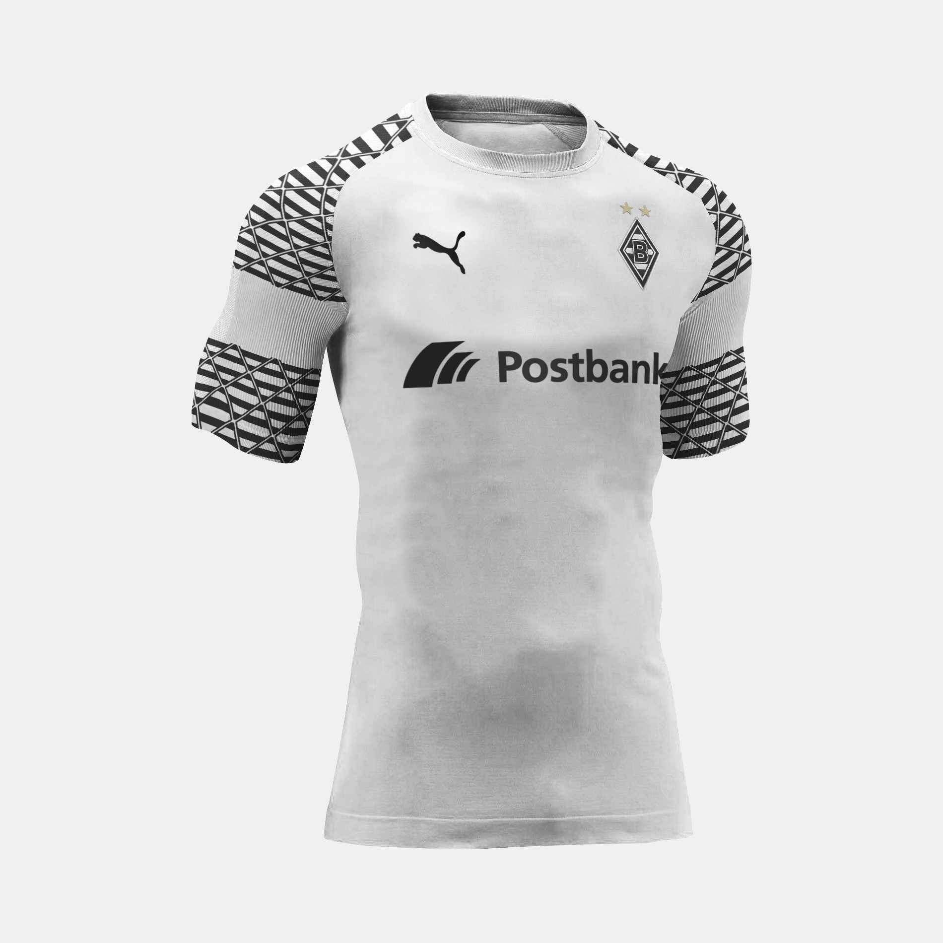 Borussia Mönchengladbach All Black Kit / Borussia ...