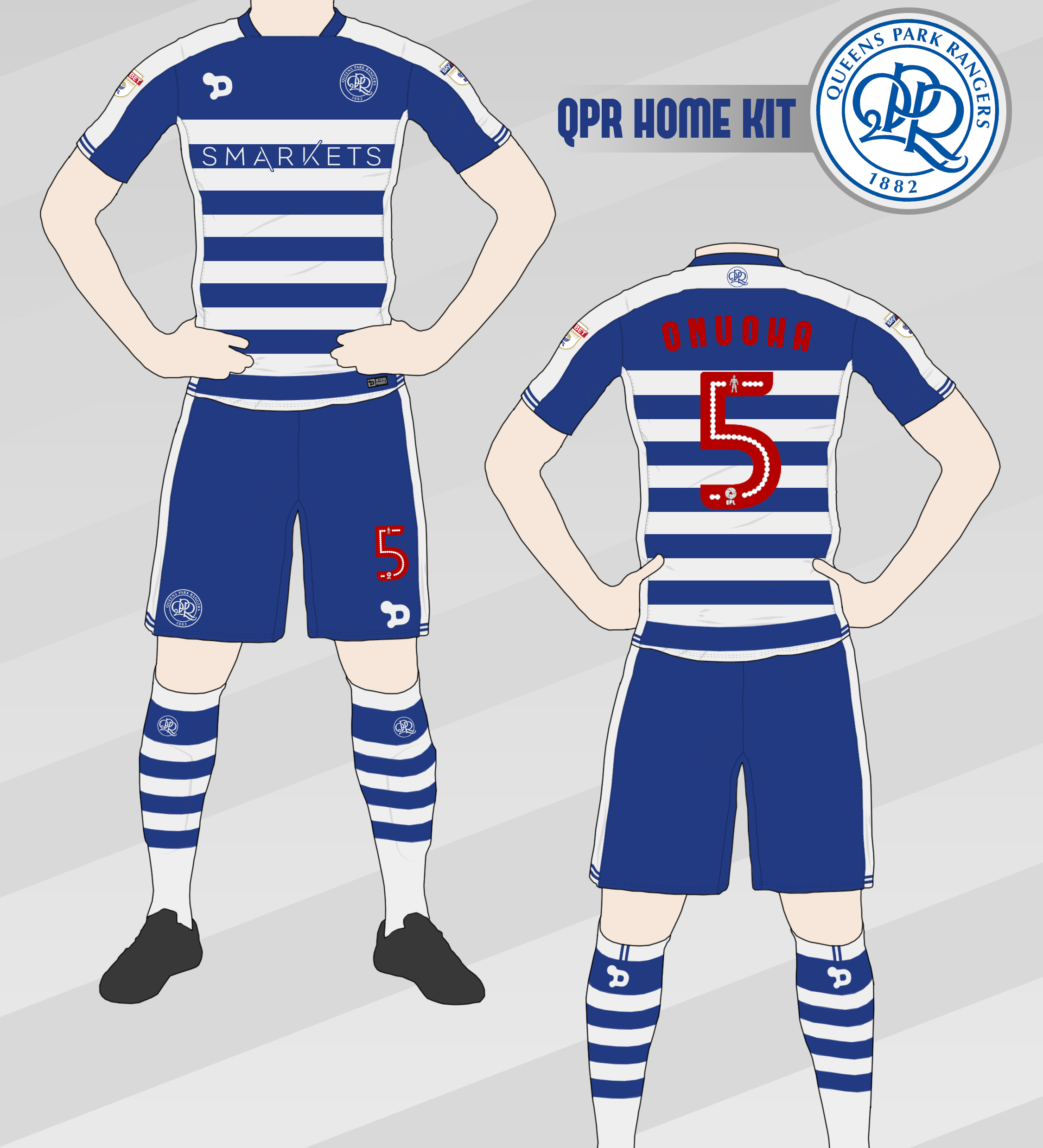 size 40 47975 045f1 QPR Home Kit