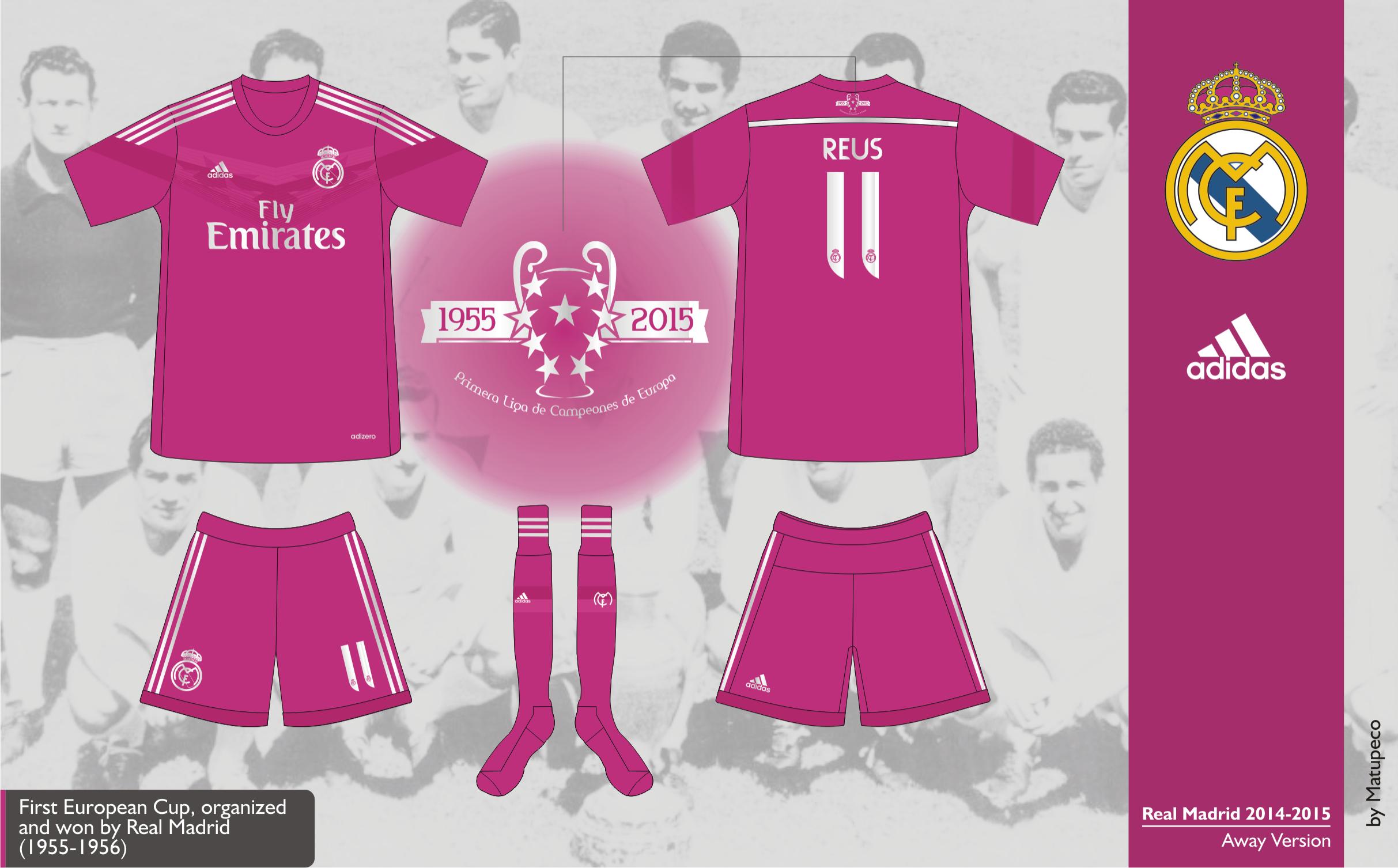 brand new e4329 55140 Real Madrid Away Kit 2014/2015 - Prediction