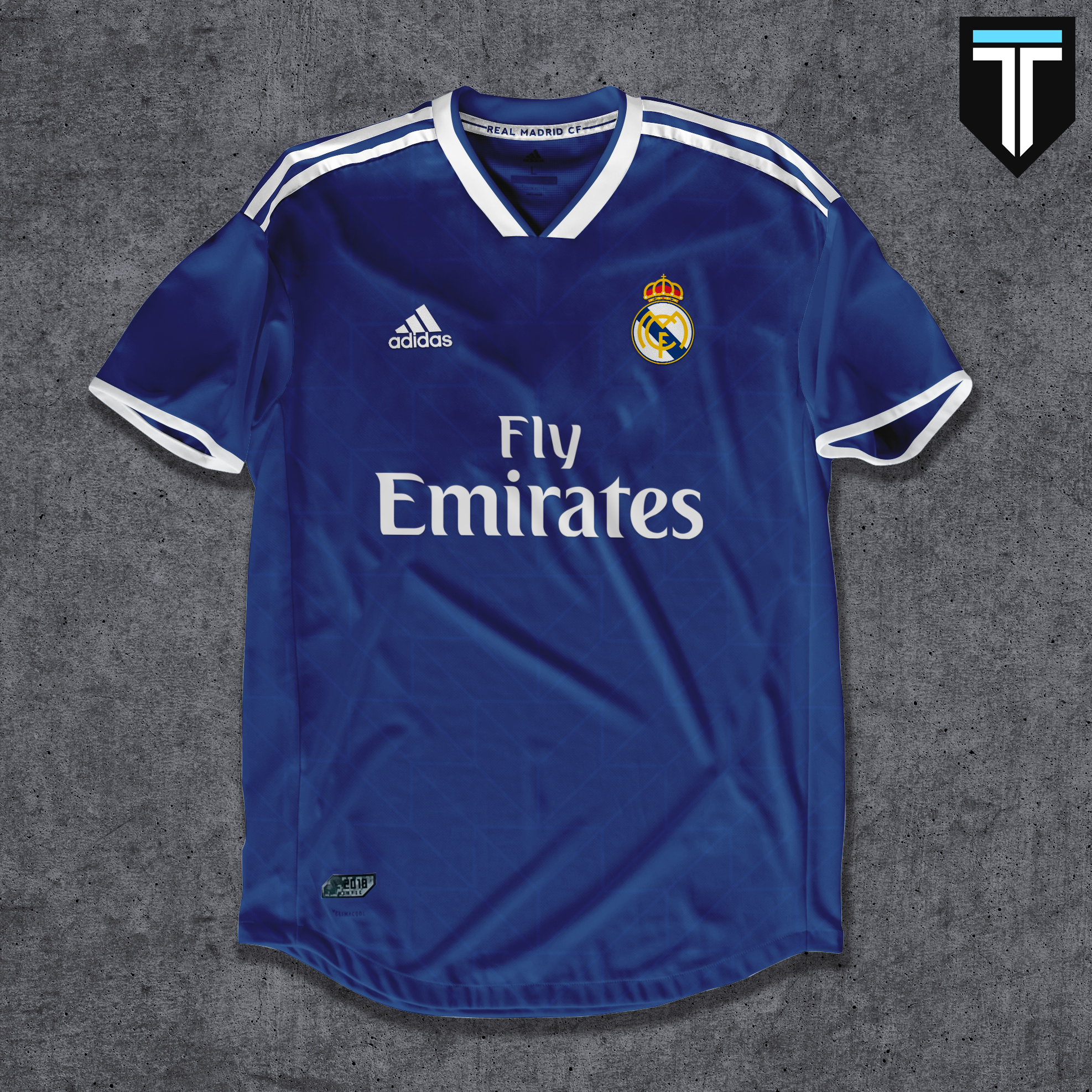 buy popular a037e 014a0 Real Madrid Away Kit Concept