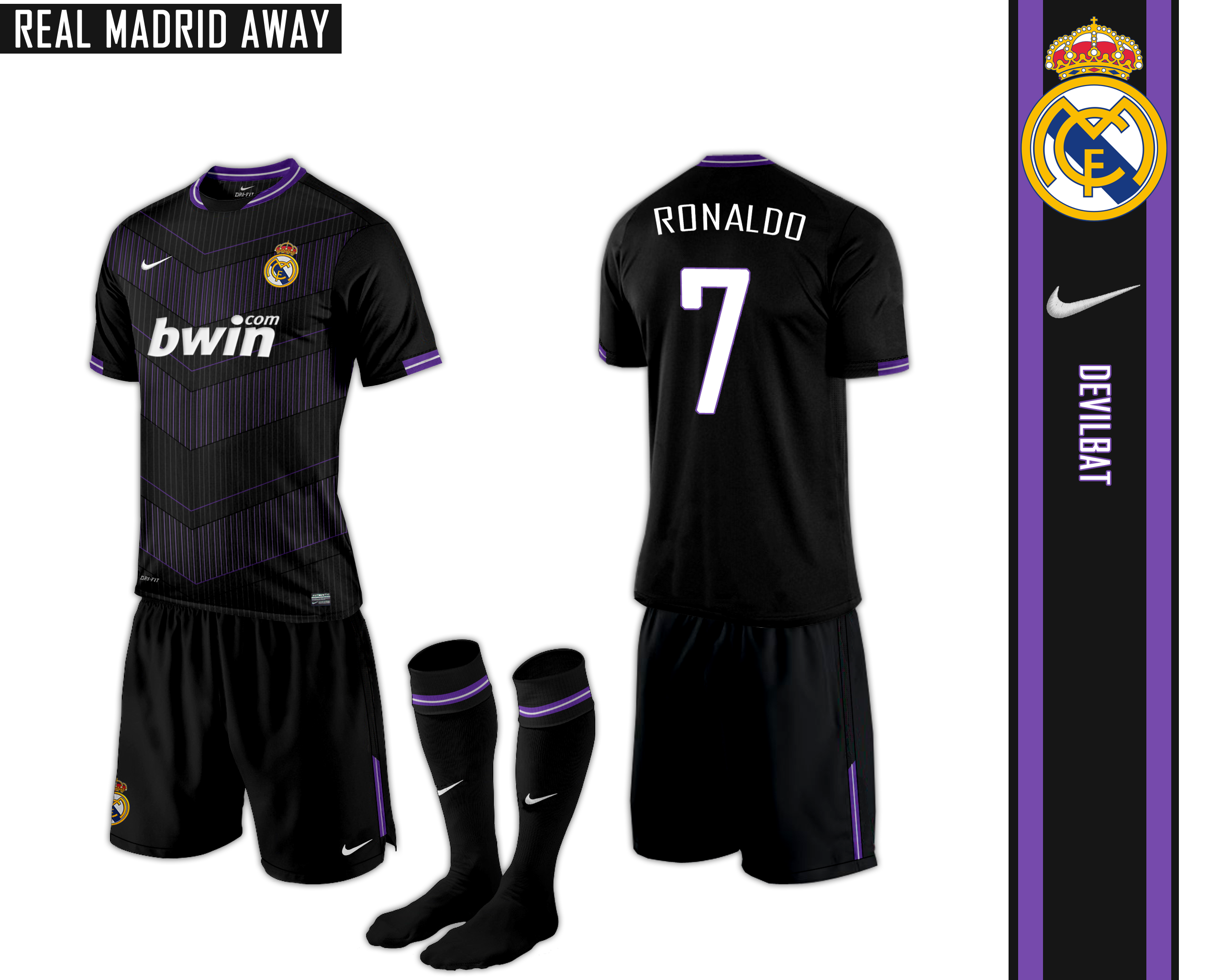 the latest b992a 5a008 Real Madrid Away Nike