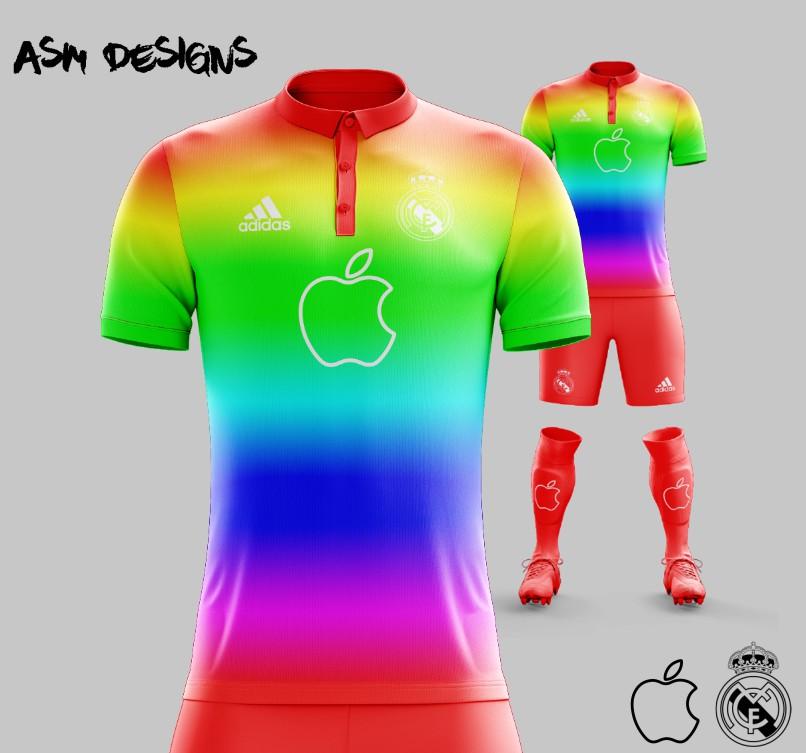 pretty nice 51c88 93adb Real Madrid C.F. 2018 Adidas Apple X Kit