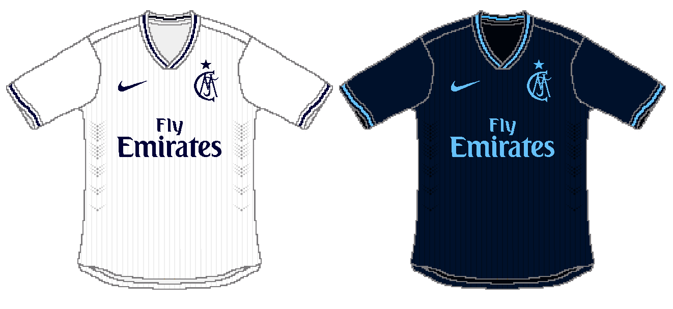 cheap for discount ac1d5 b78c9 Real Madrid Nike Home and Away