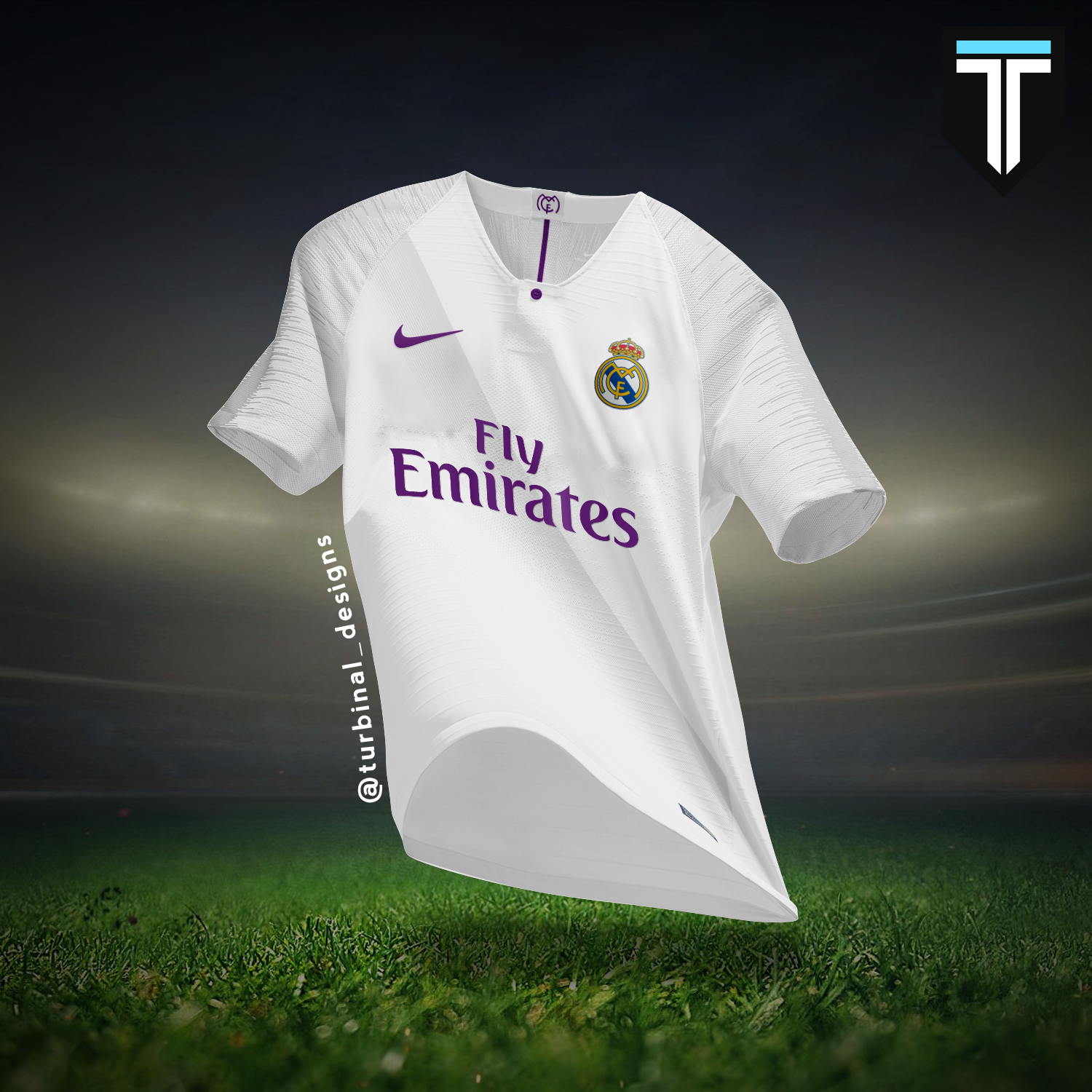 b49da48e706 Real Madrid Nike Home Kit Concept