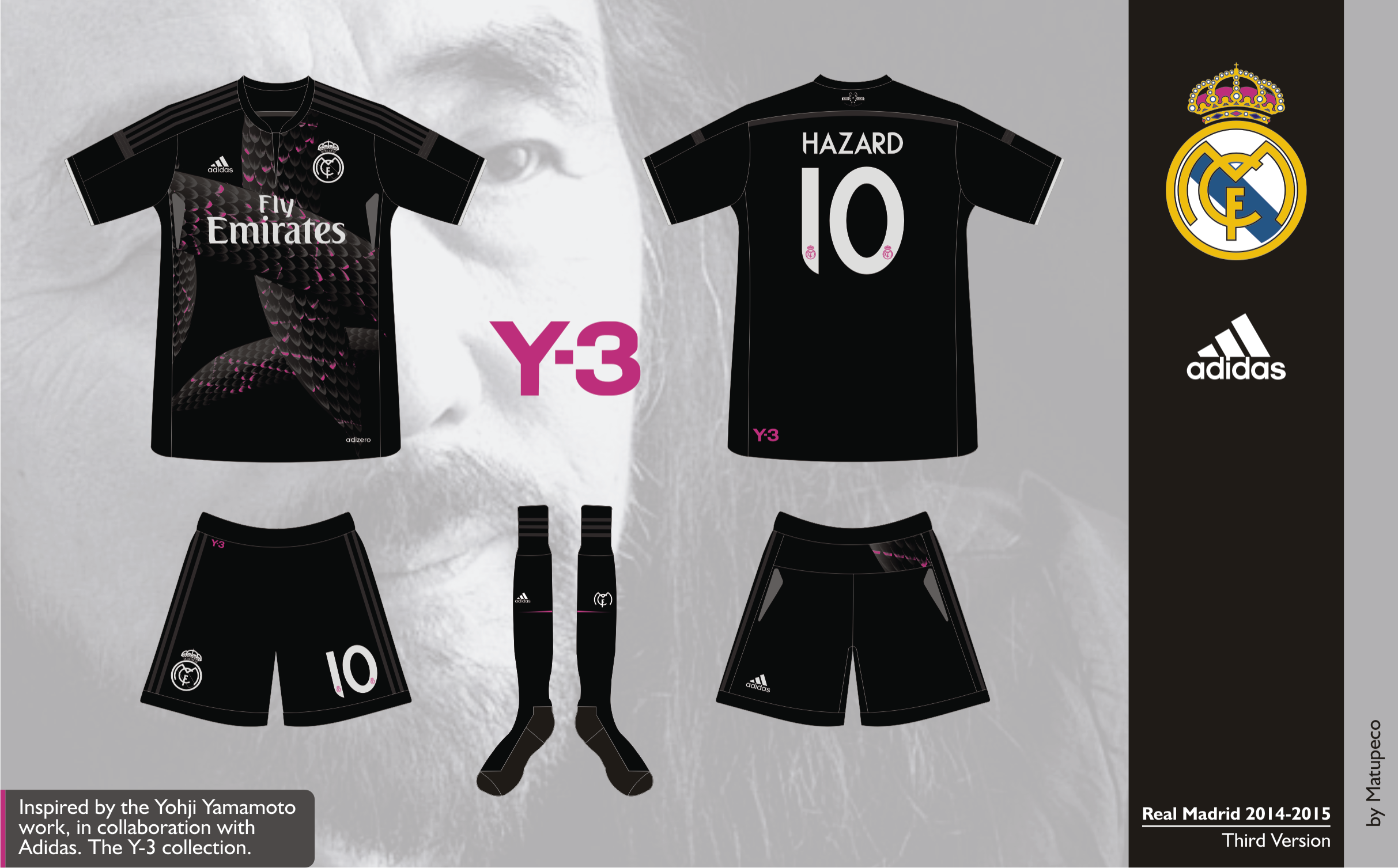 4daf3c075 Real Madrid Third Kit 2014 2015 - Prediction