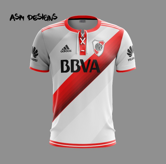 f93b732c9cd River Plate 2019 Adidas 2019 Home Kit