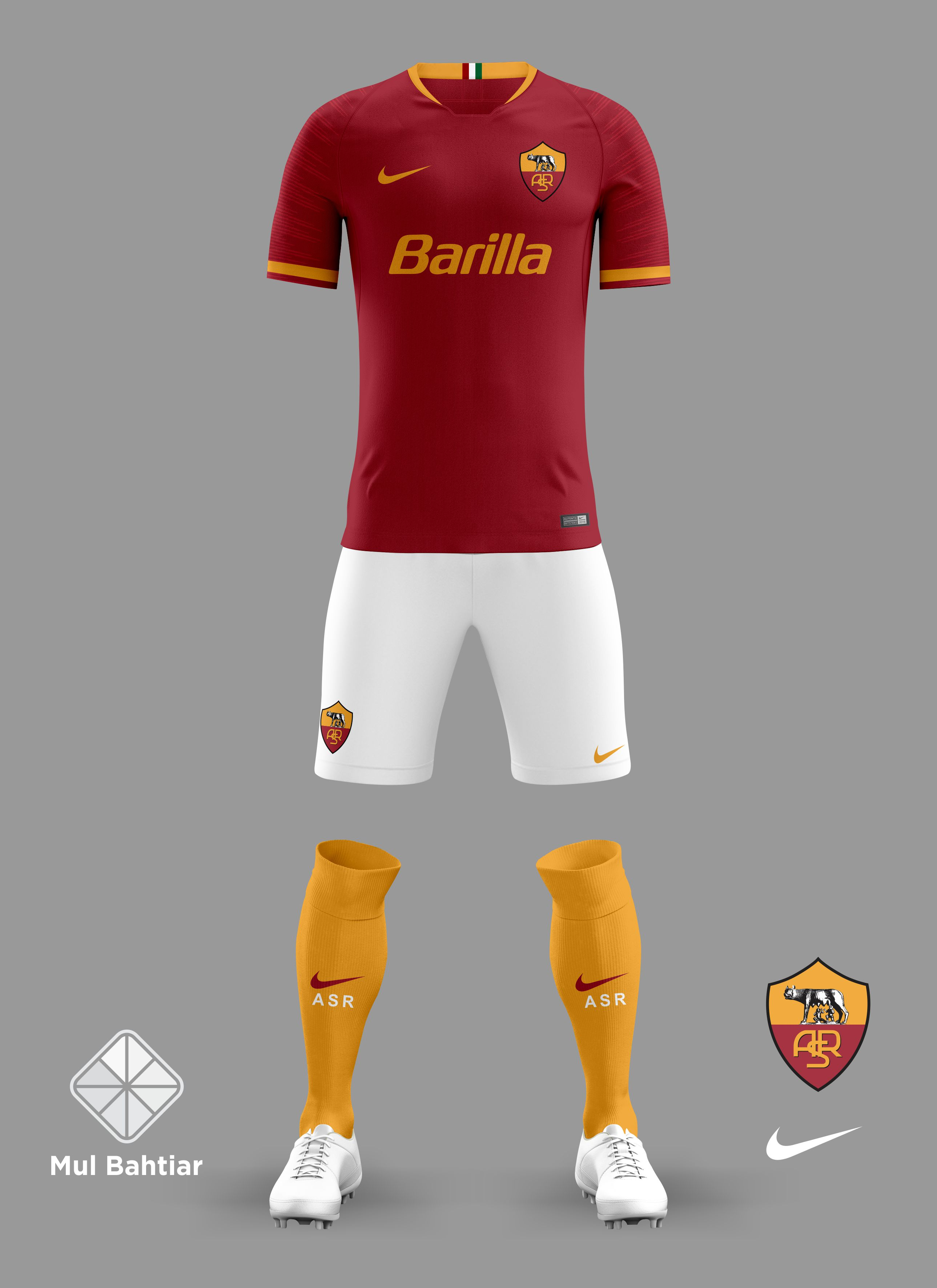 quality design 9064e 4056f AS Roma 2018/2019 Home Jersey
