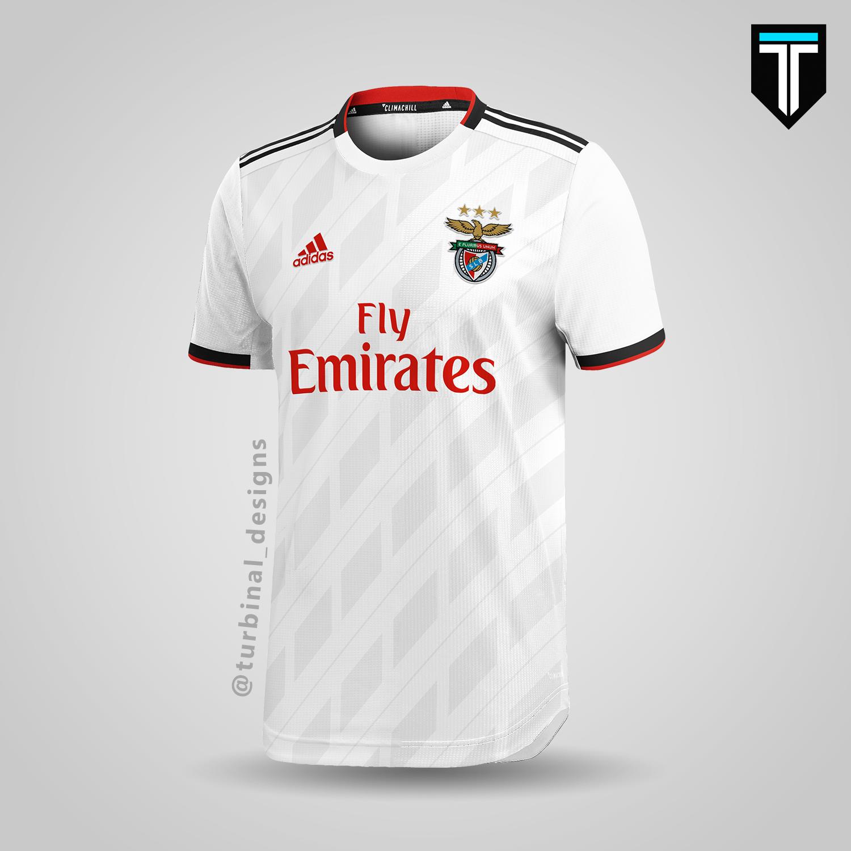 the best attitude 0c883 ee1e8 SL Benfica - Away Kit