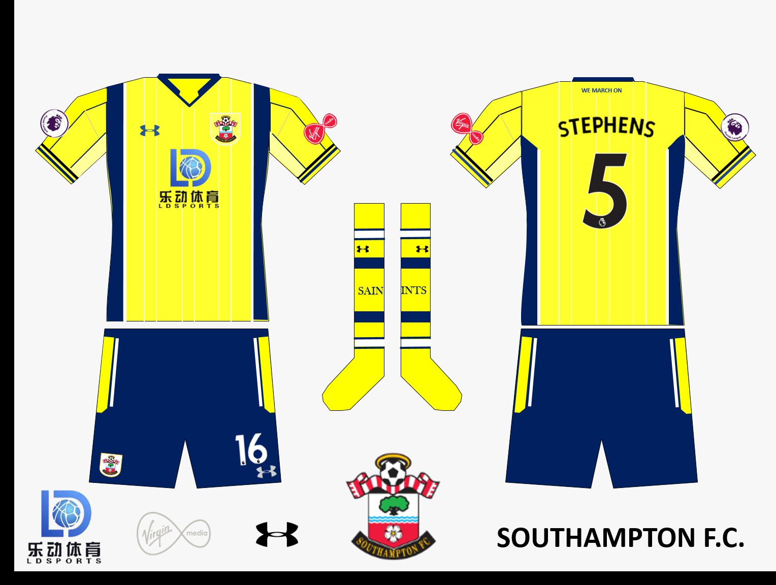 Southampton FC Away Kit 2019/2020 V.3