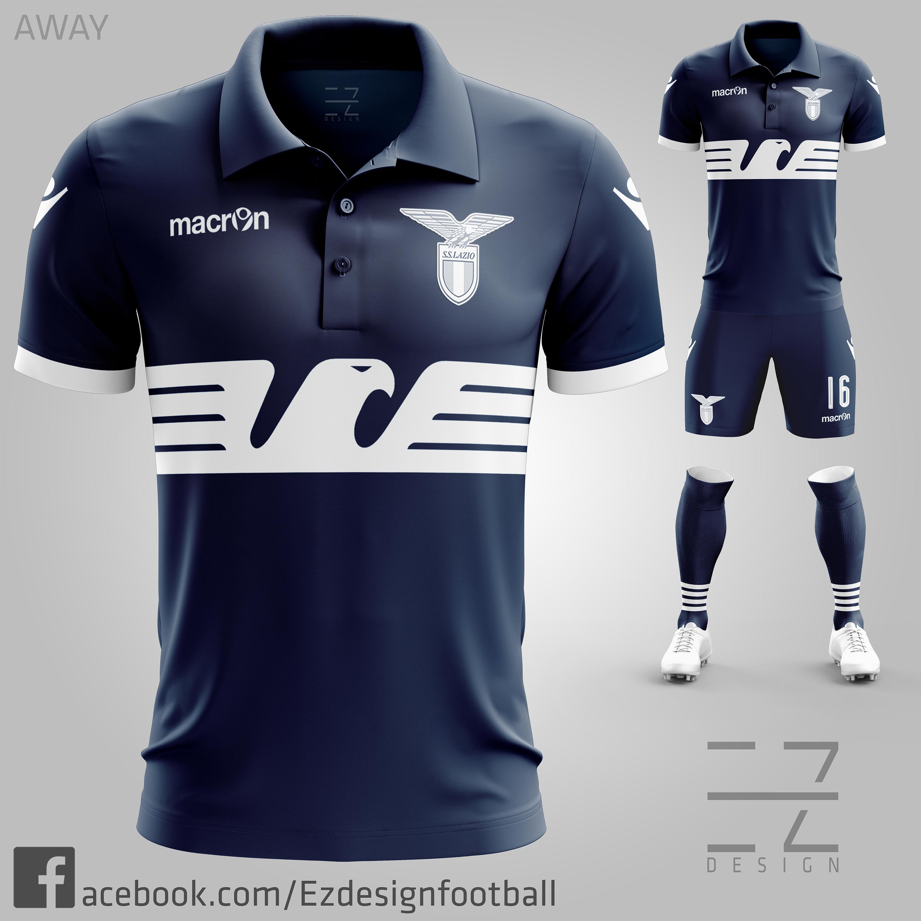 03b1df5db S.S. Lazio Third Kit  Classic Eagle