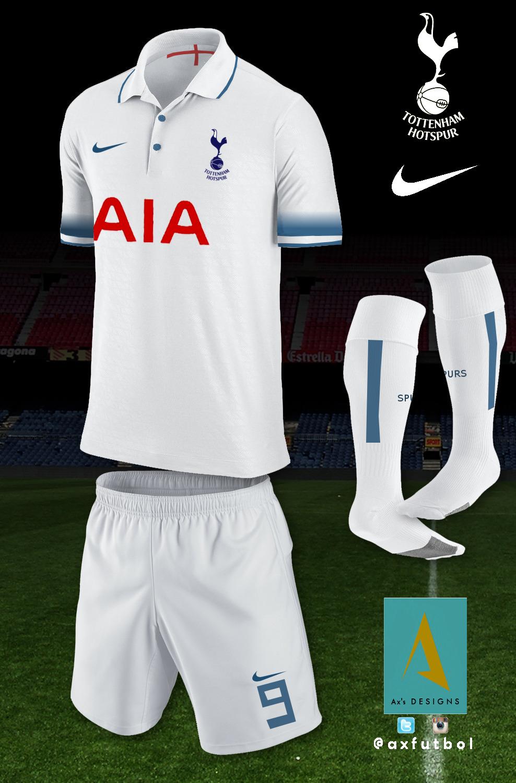check out e3b4b 8dc28 Tottenham Hotspur FC // HOME NIKE KIT